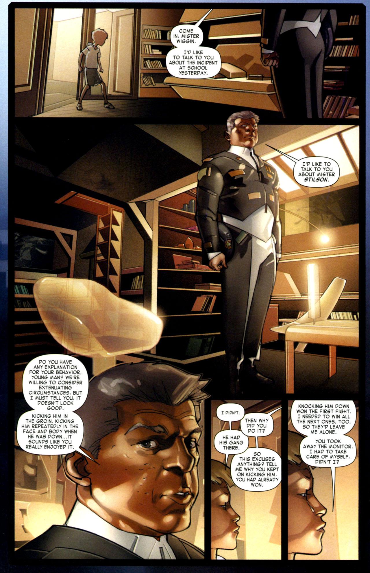 Read online Ender's Game: Battle School comic -  Issue #1 - 21