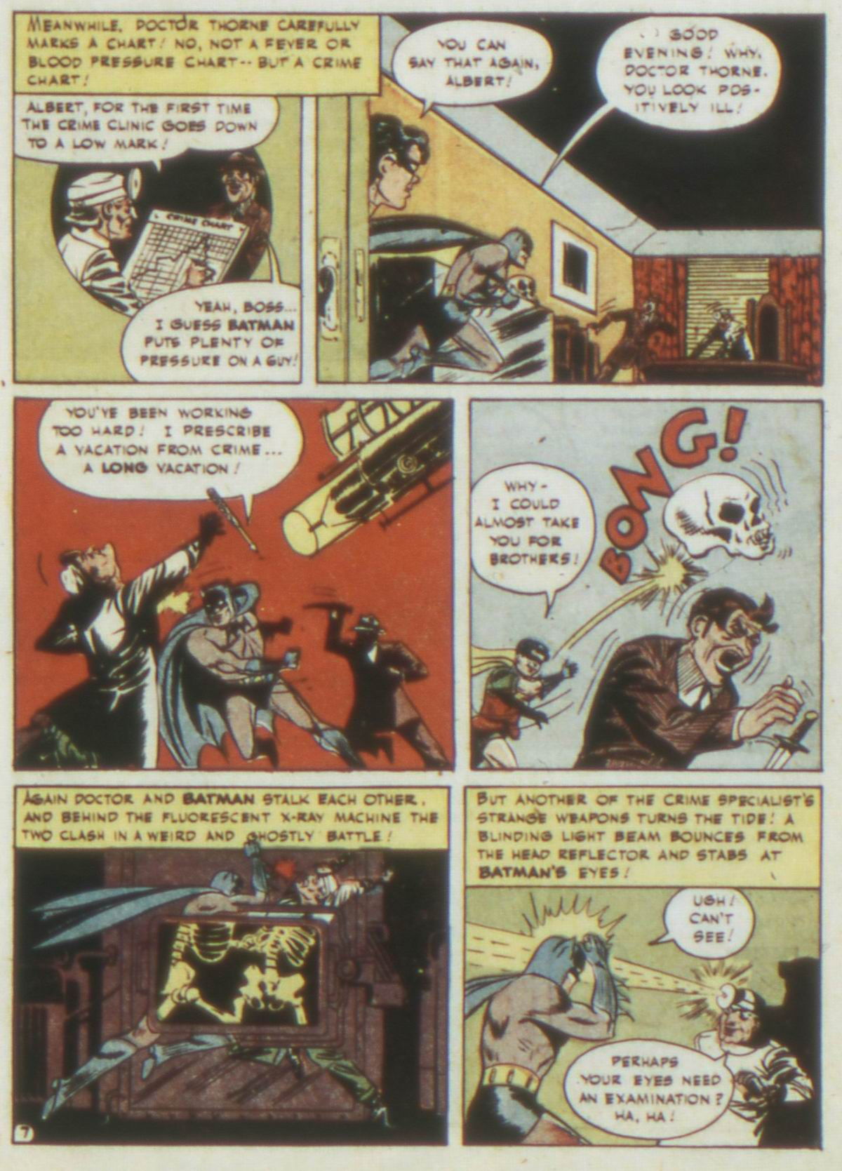 Read online Detective Comics (1937) comic -  Issue #77 - 9