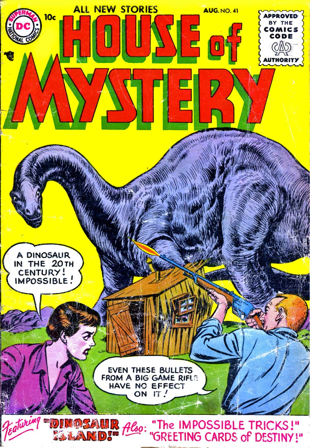 House of Mystery (1951) issue 41 - Page 1