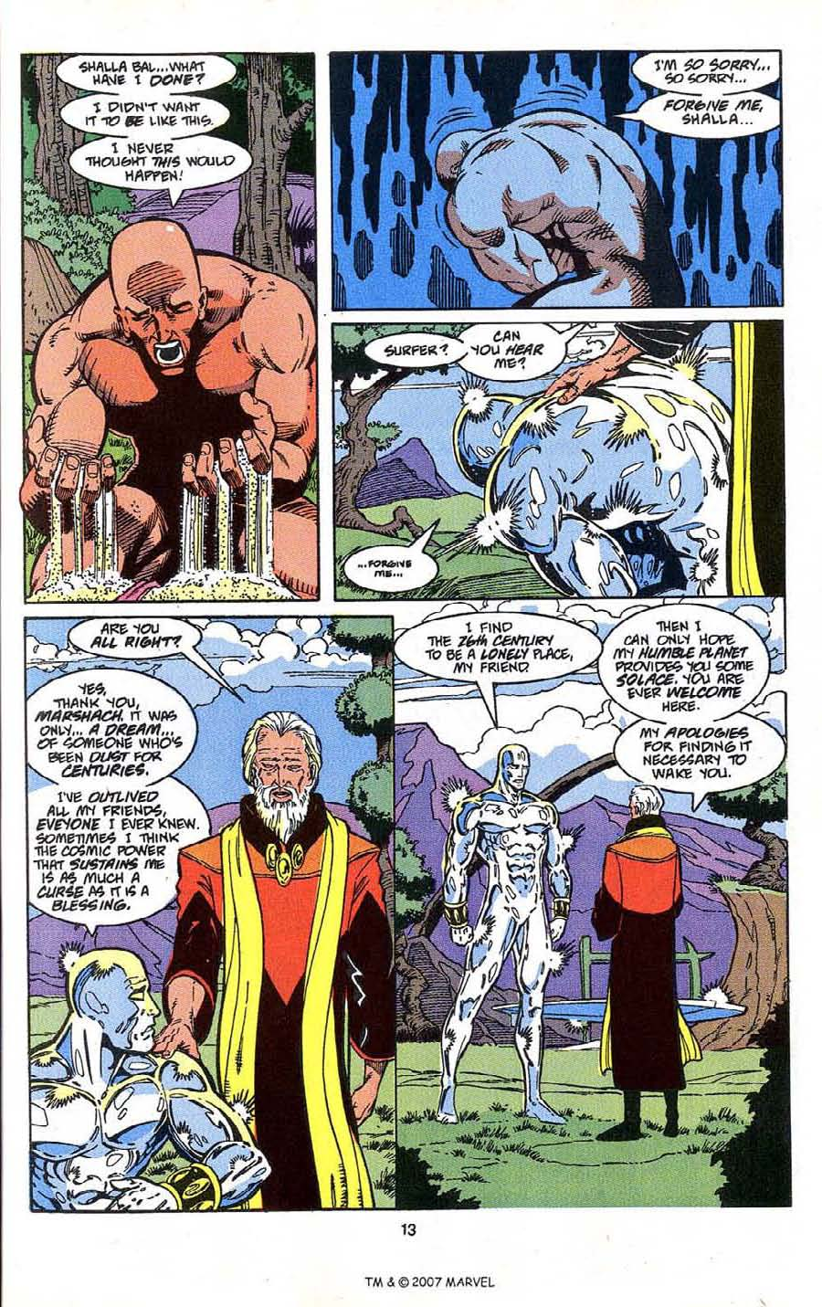 Read online Silver Surfer (1987) comic -  Issue # _Annual 4 - 15