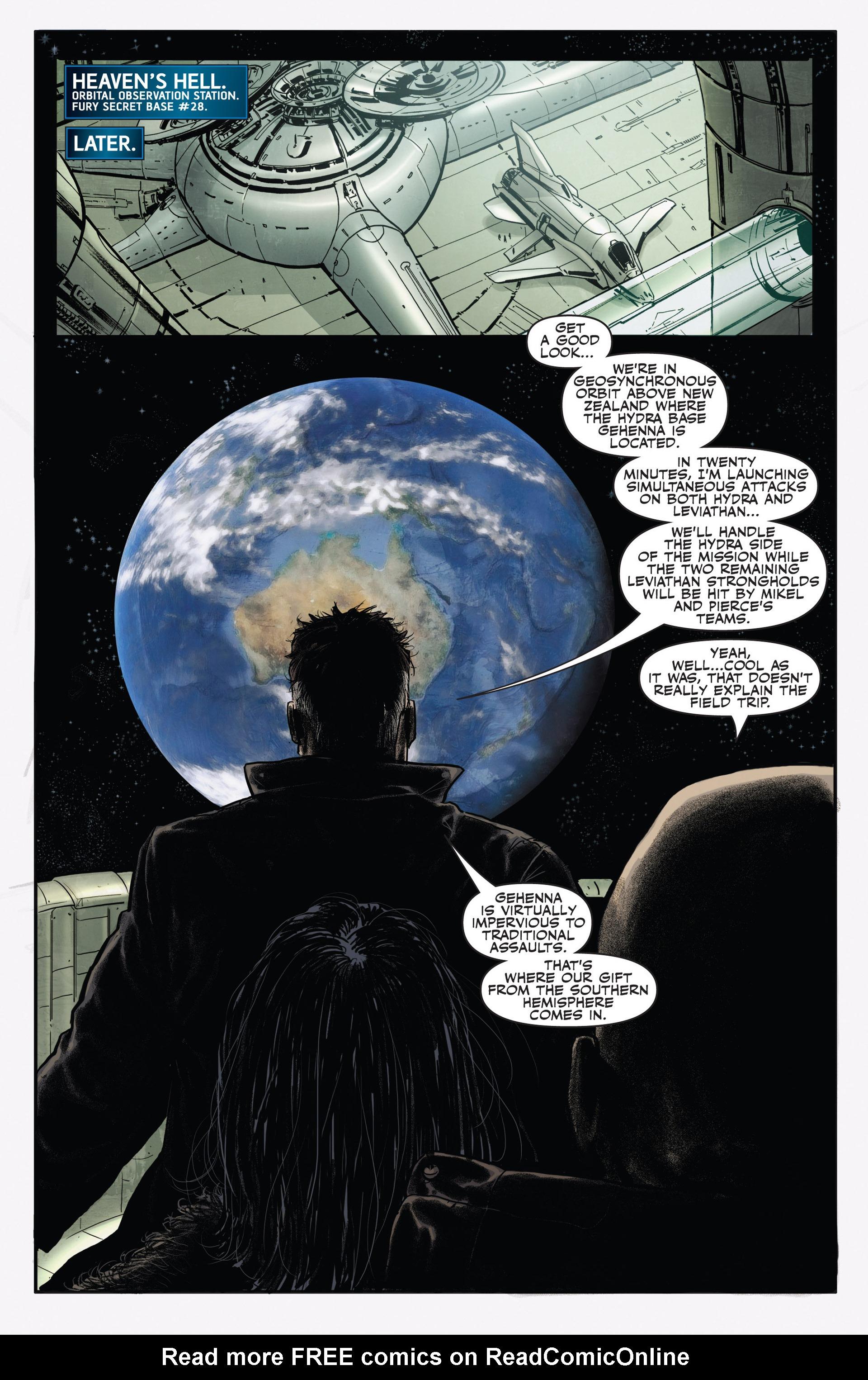 Read online Secret Warriors comic -  Issue #20 - 16