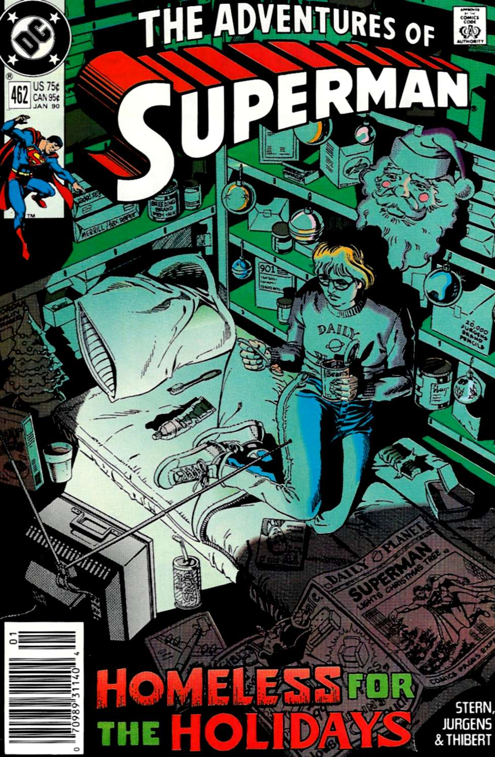 Read online Adventures of Superman (1987) comic -  Issue #462 - 1