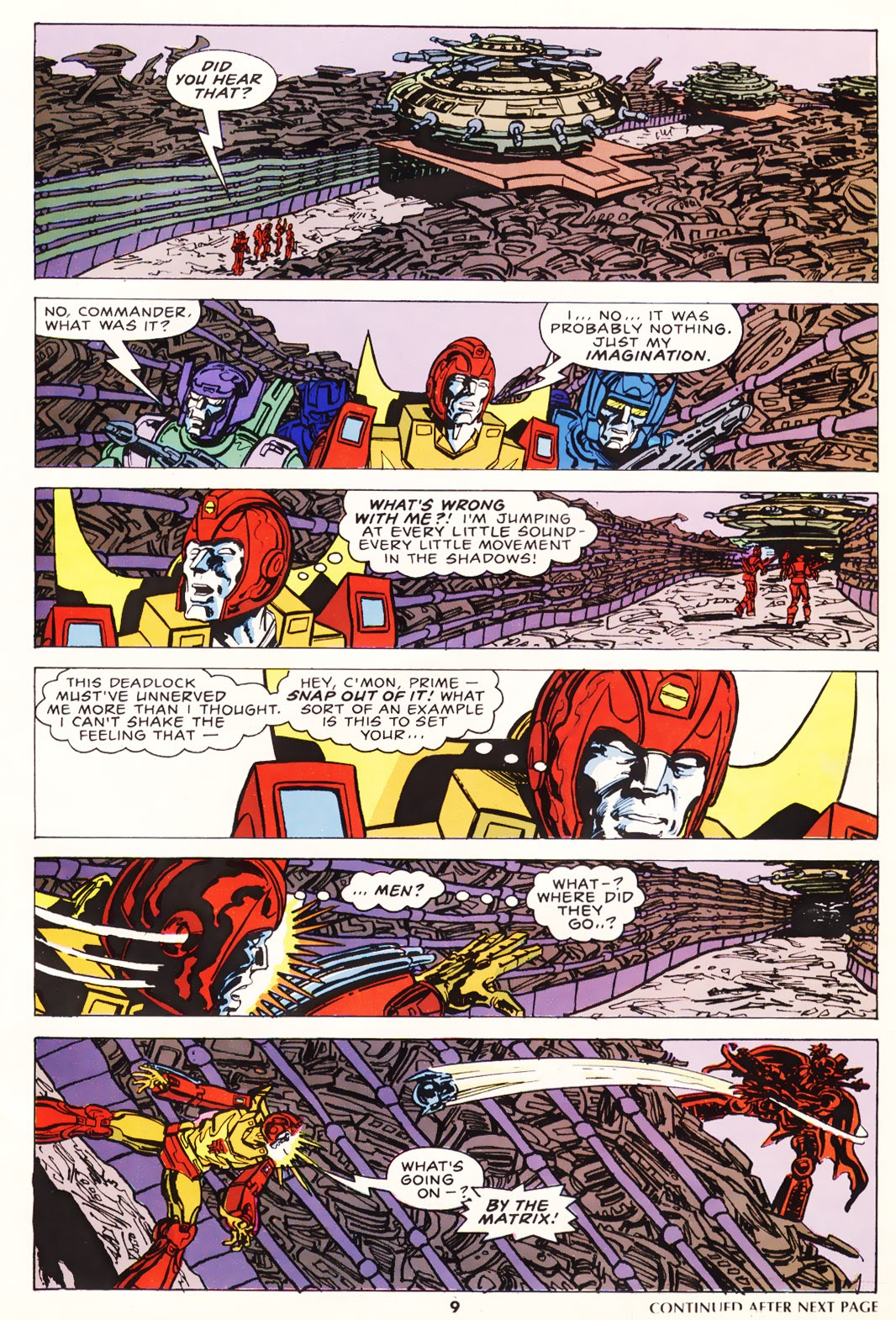 The Transformers (UK) 226 Page 1