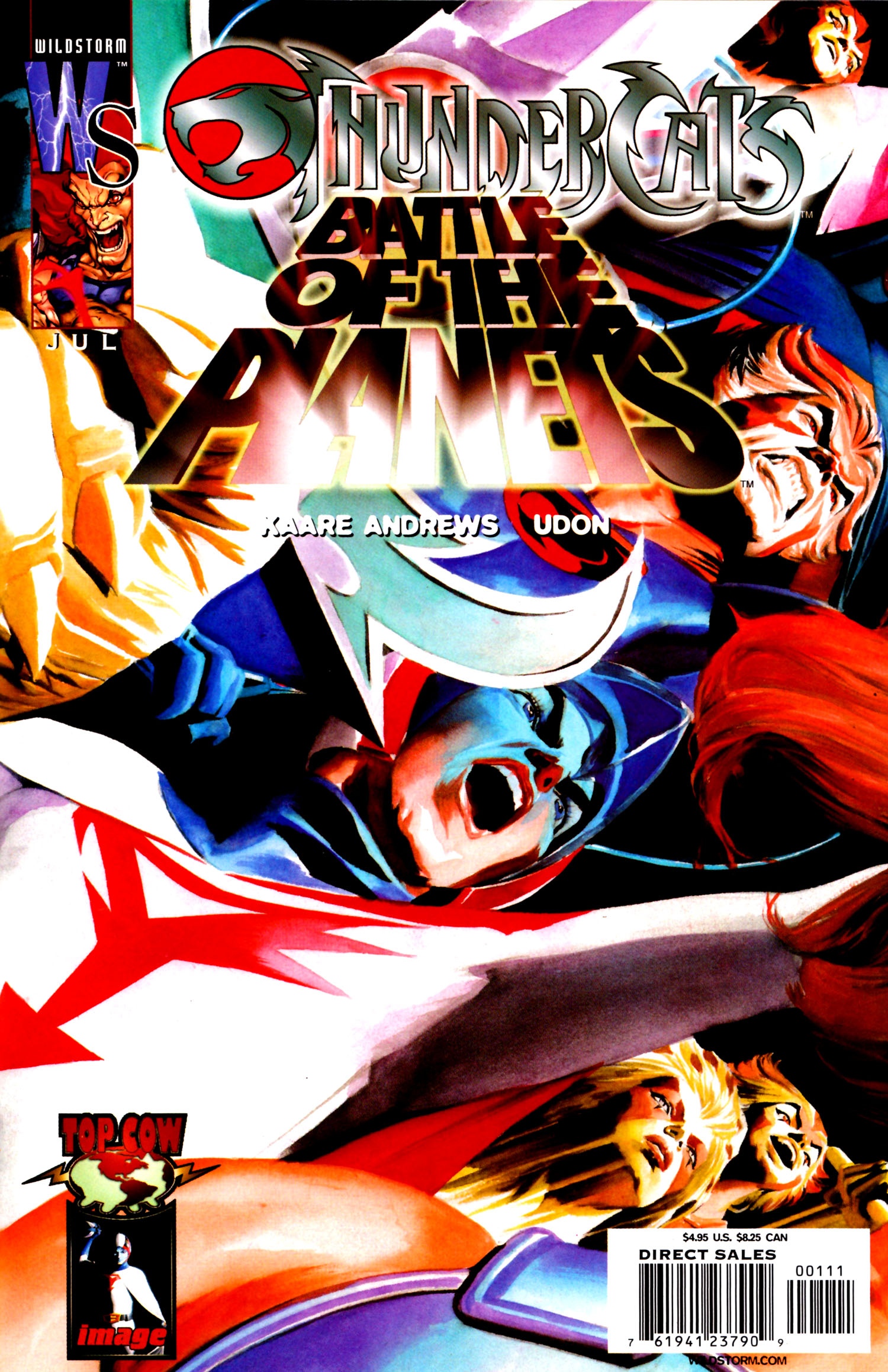 ThunderCats/Battle of the Planets  issue Full - Page 1