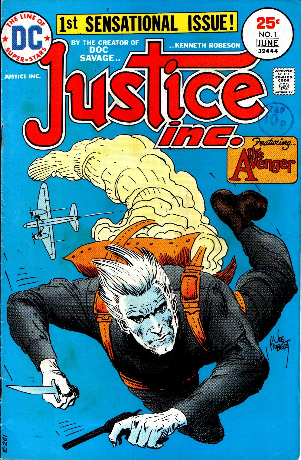 Justice, Inc. (1975) issue 1 - Page 1
