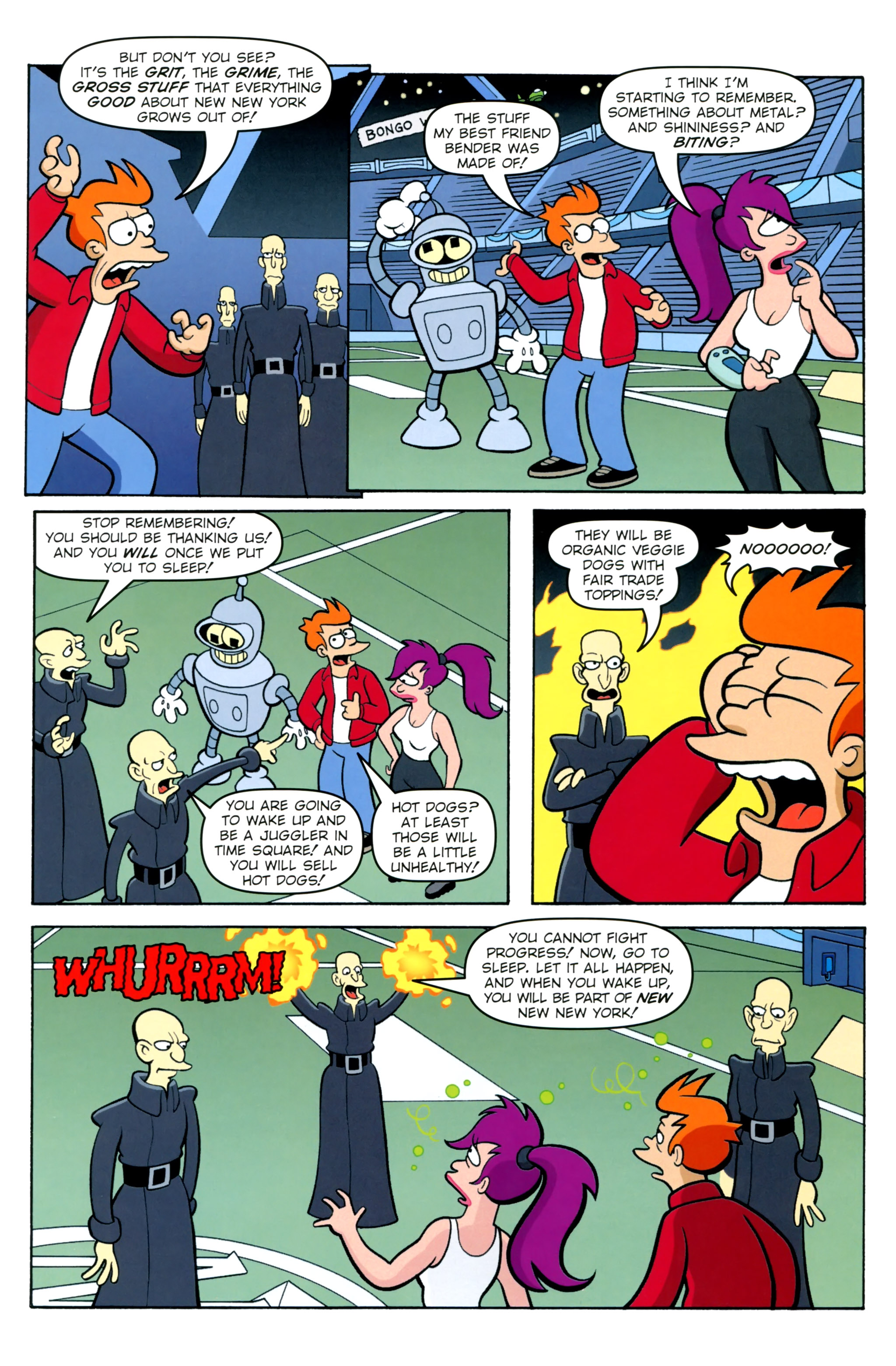 Futurama Comics futurama comics #77 - read futurama comics issue #77 page 22
