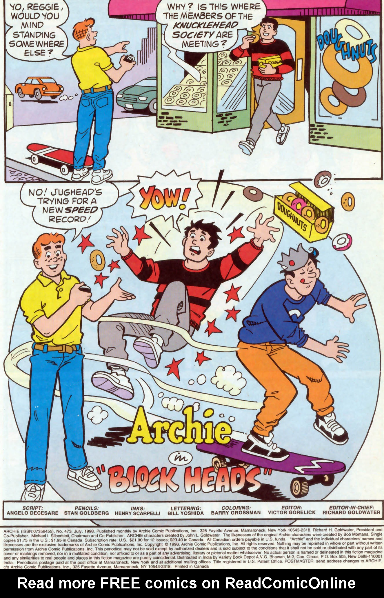 Read online Archie (1960) comic -  Issue #473 - 2