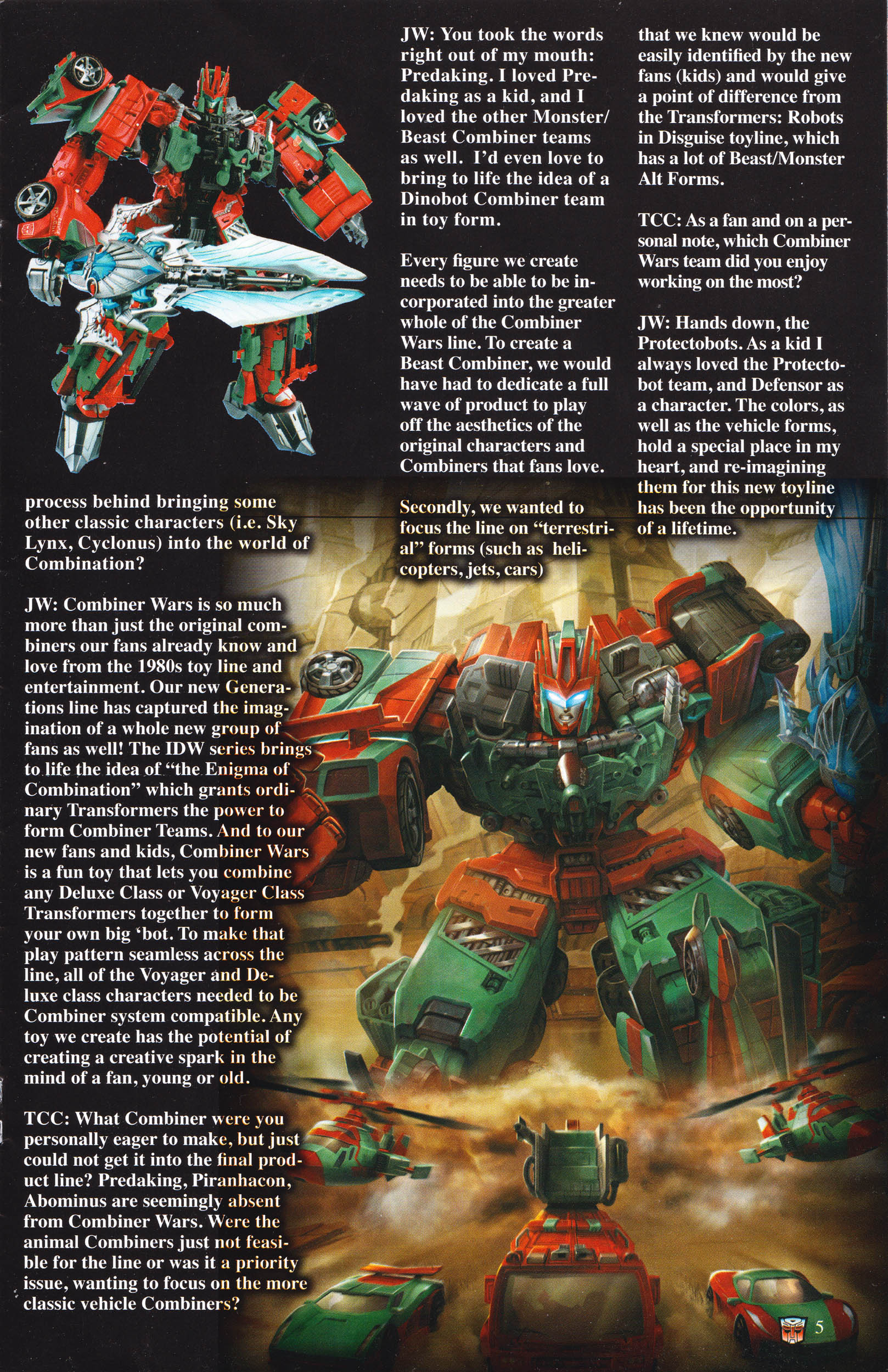 Read online Transformers: Collectors' Club comic -  Issue #65 - 5