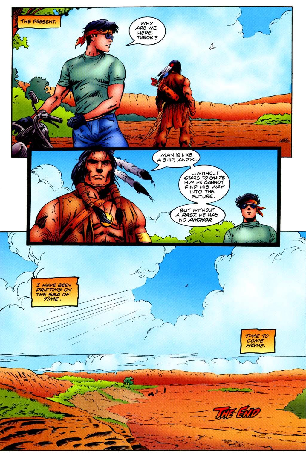 Read online Turok, Dinosaur Hunter (1993) comic -  Issue #44 - 19