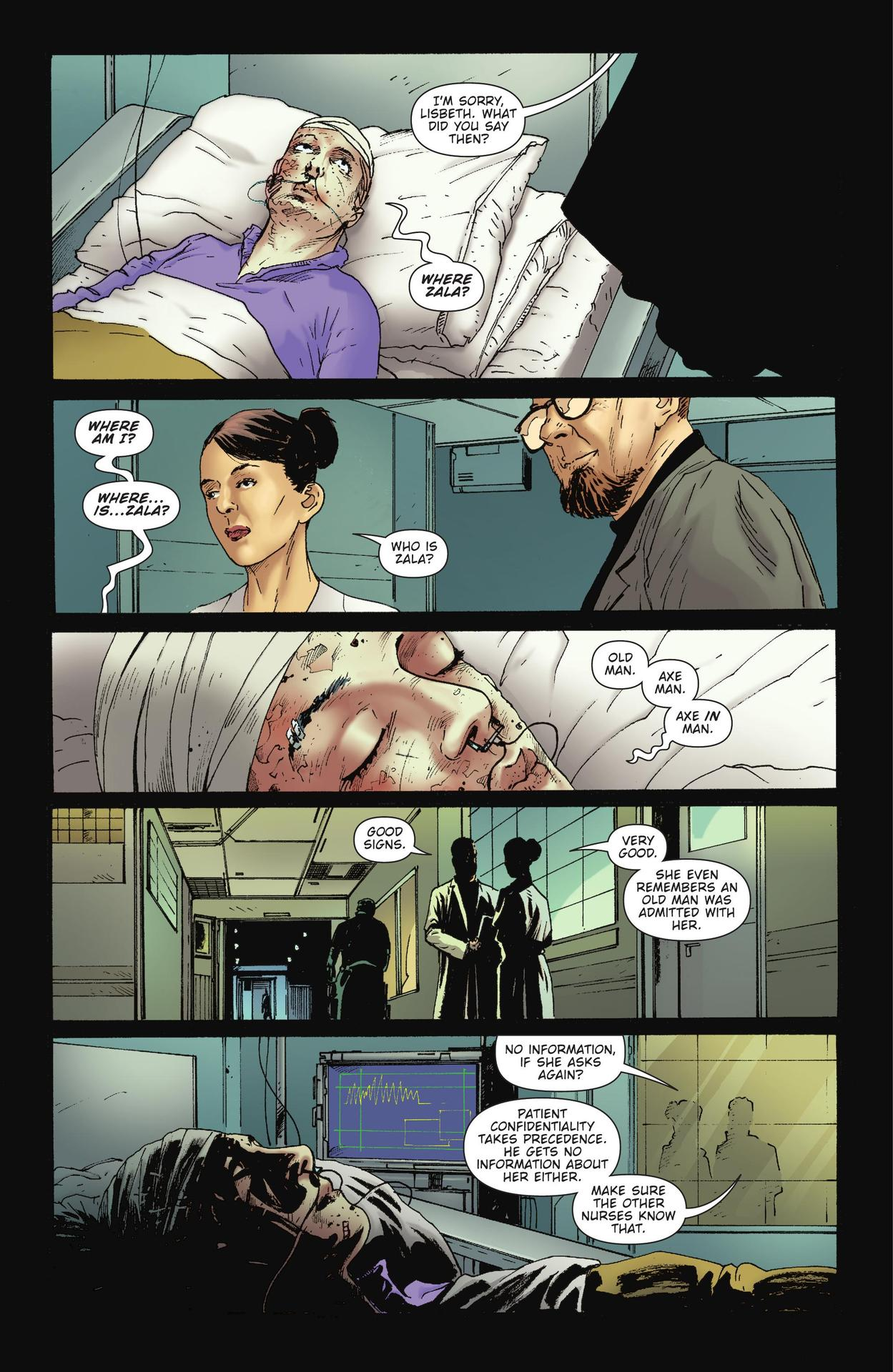 Read online The Girl Who Kicked The Hornet's Nest comic -  Issue # TPB - 36