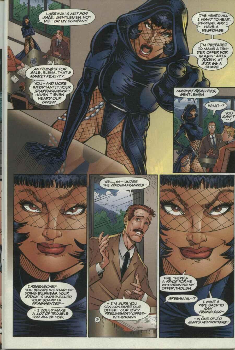 Read online Ultraverse Premiere comic -  Issue #4 - 17