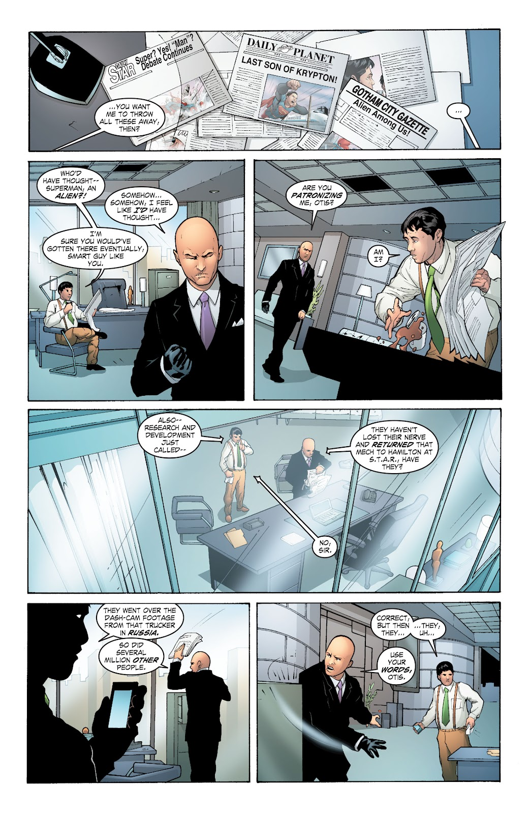 Read online Smallville Season 11 [II] comic -  Issue # TPB 6 - 63
