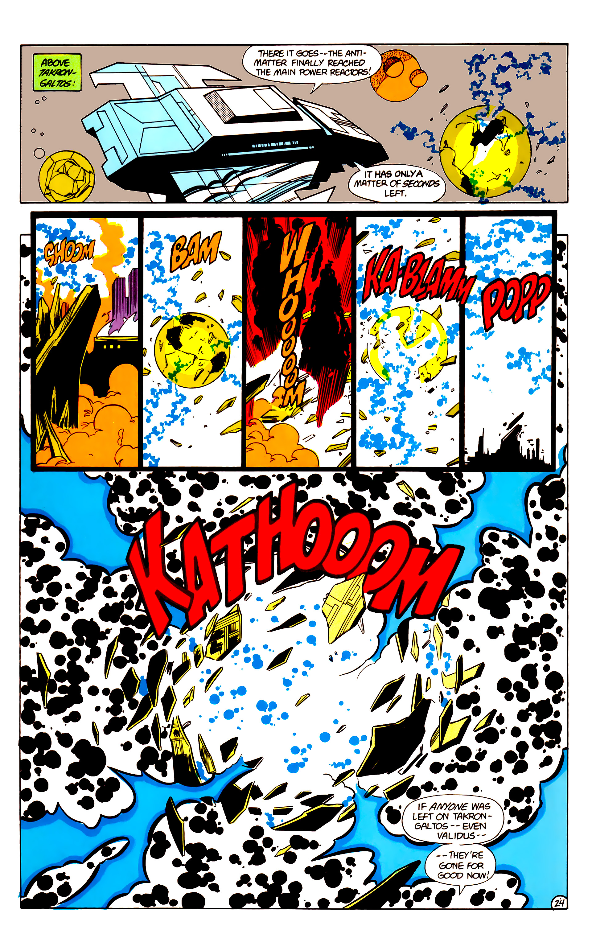 Legion of Super-Heroes (1984) 18 Page 24