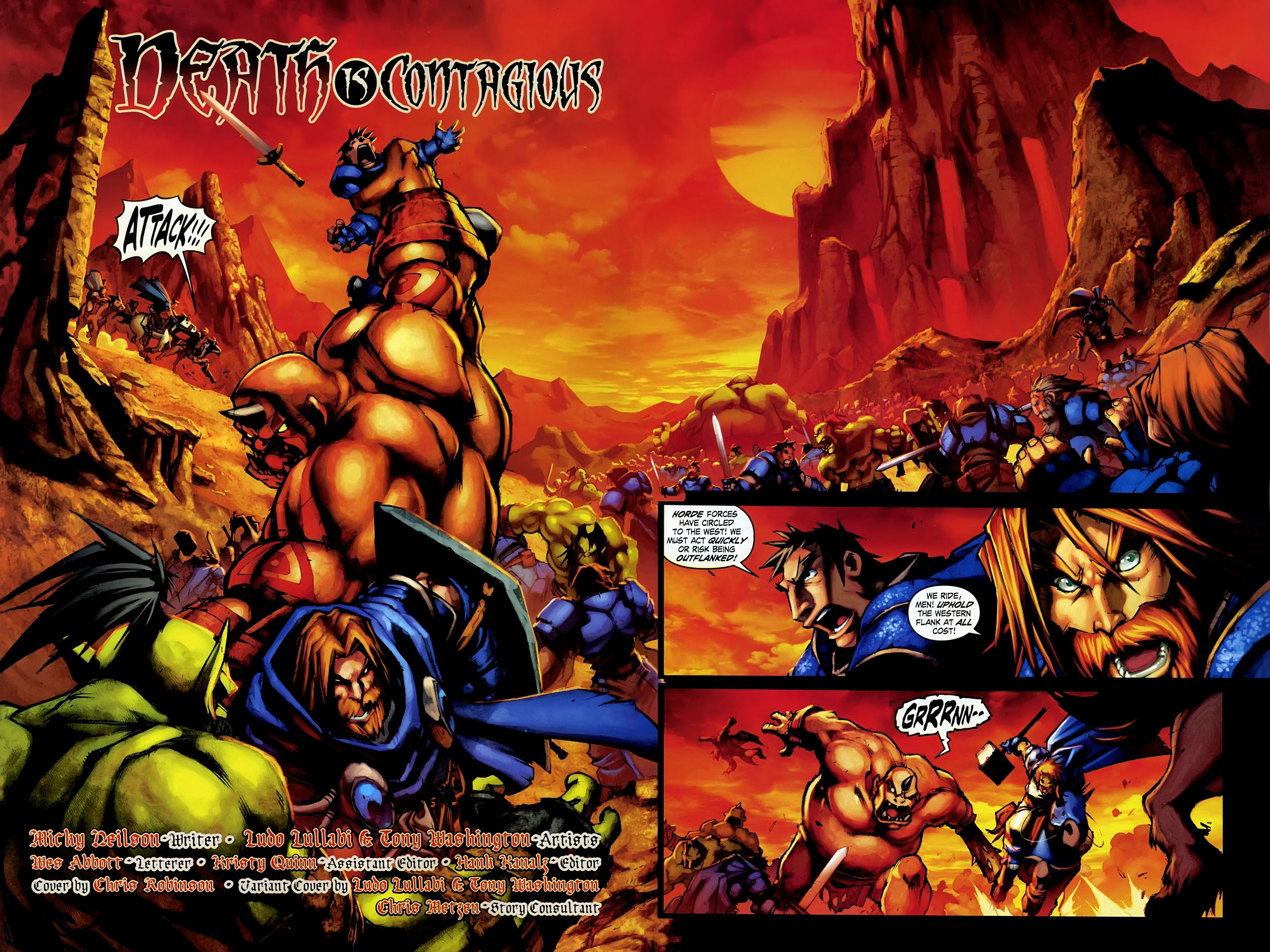 Read online World of Warcraft: Ashbringer comic -  Issue #1 - 3