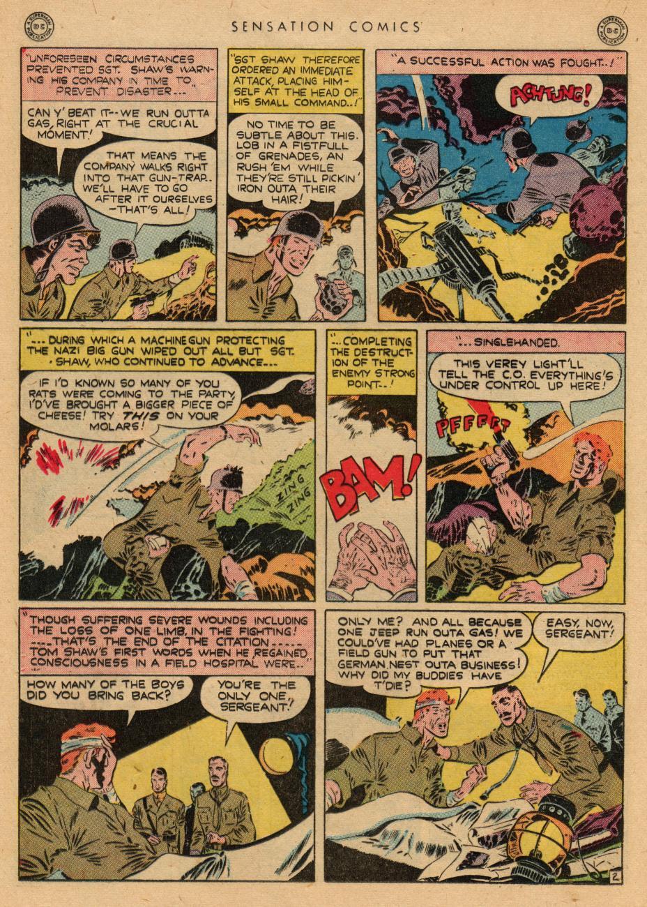 Read online Sensation (Mystery) Comics comic -  Issue #36 - 18
