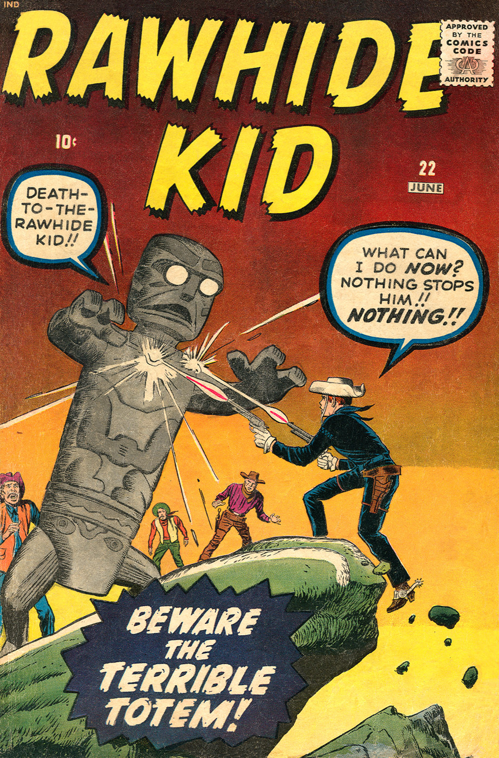 The Rawhide Kid (1955) issue 22 - Page 1