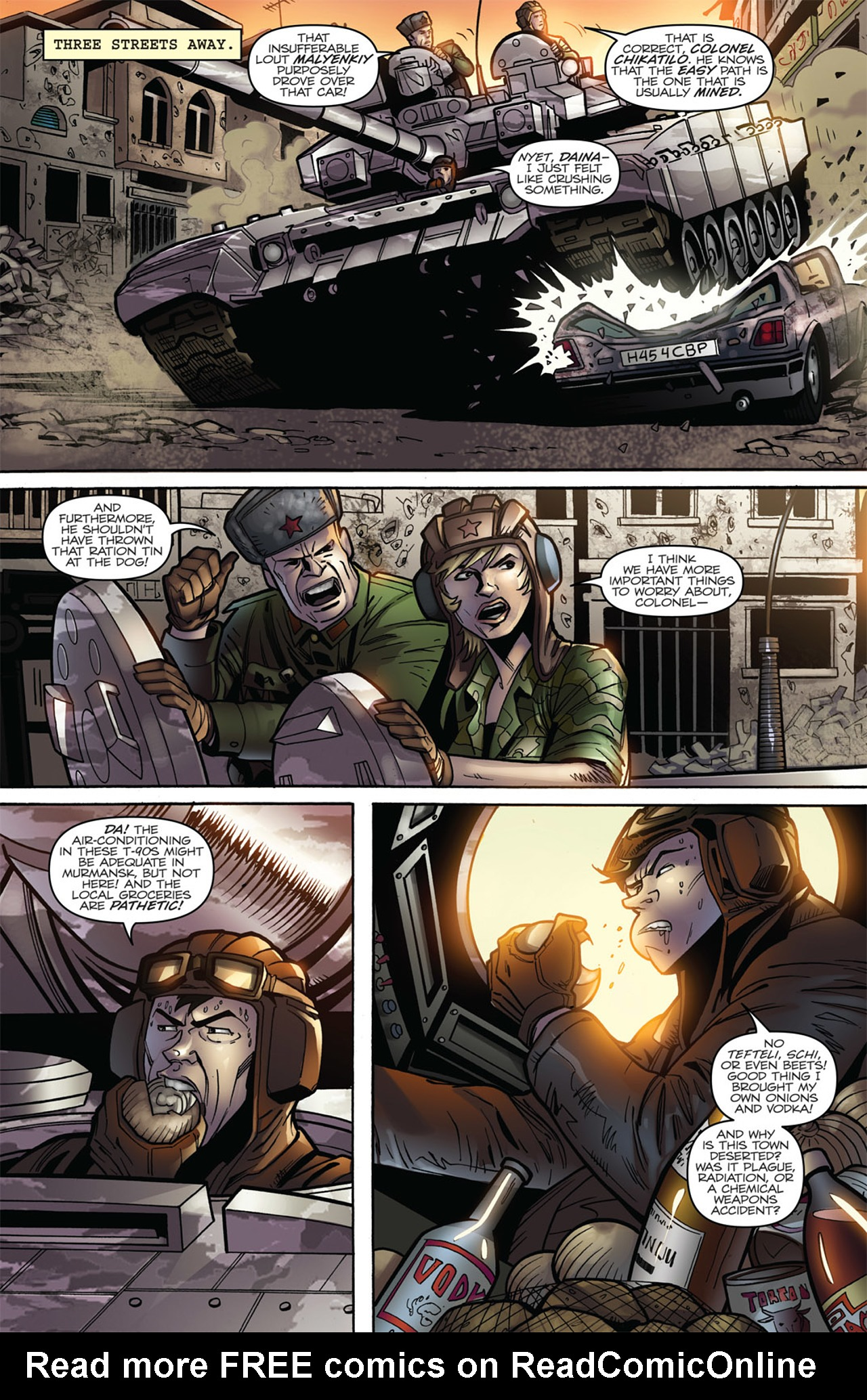 G.I. Joe: A Real American Hero 173 Page 6