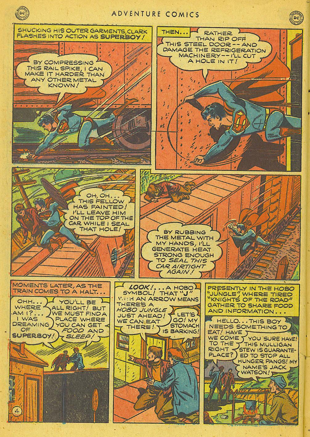 Read online Adventure Comics (1938) comic -  Issue #153 - 5