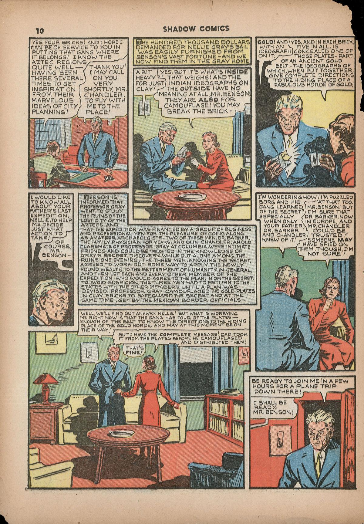 Read online Shadow Comics comic -  Issue #2 - 13