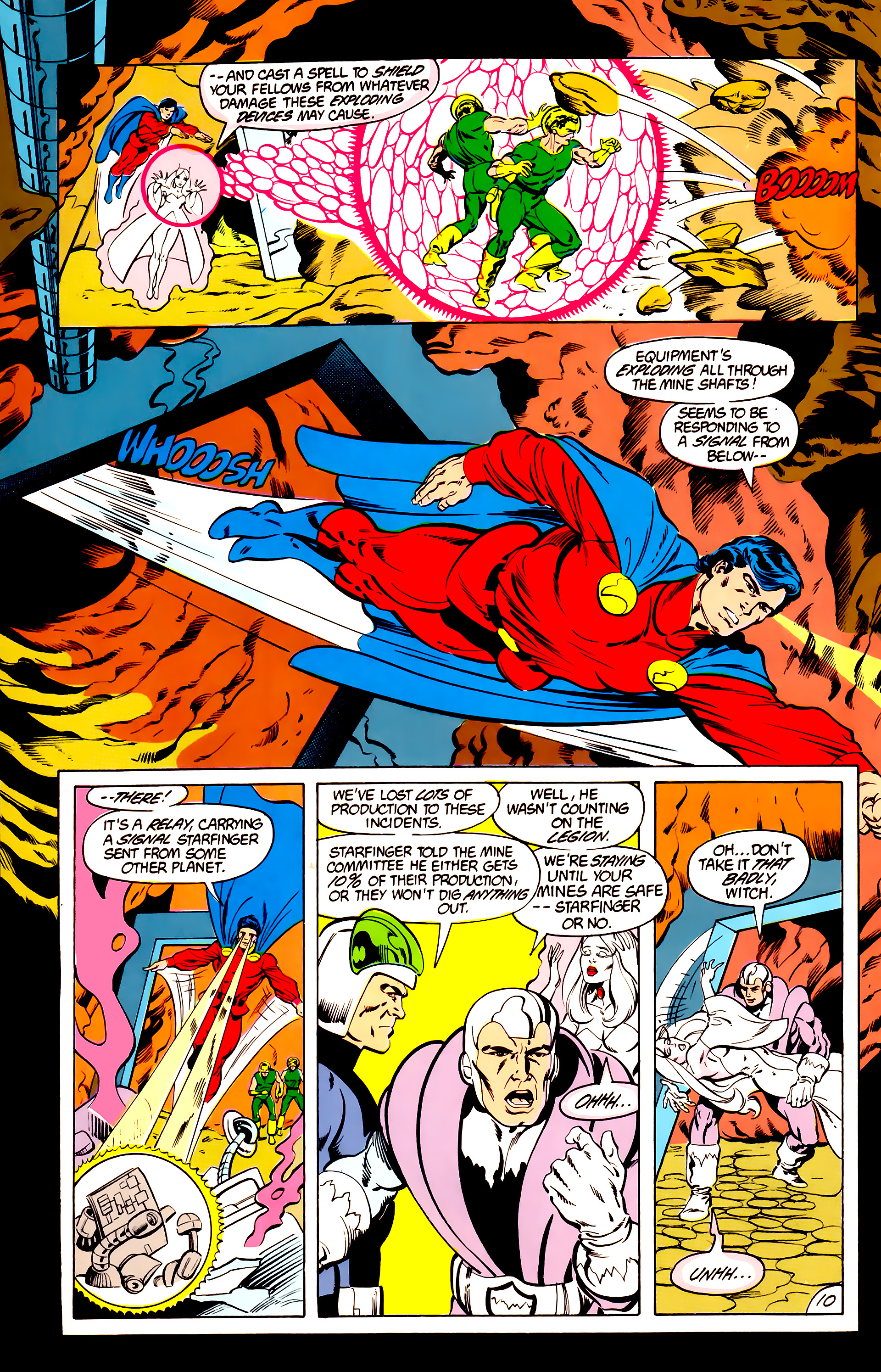 Legion of Super-Heroes (1984) 40 Page 10