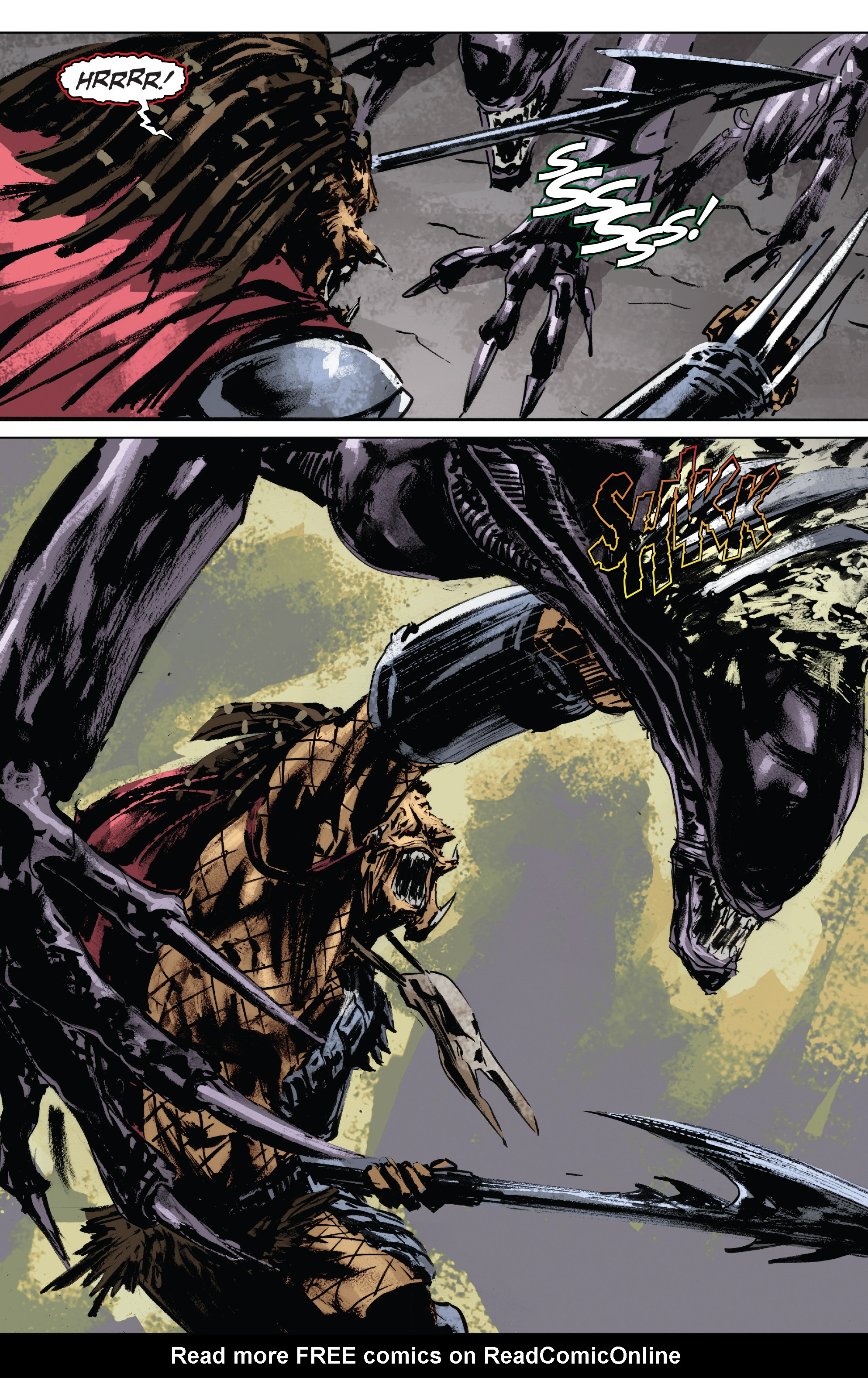 Read online Alien Vs. Predator: Life and Death comic -  Issue #1 - 24
