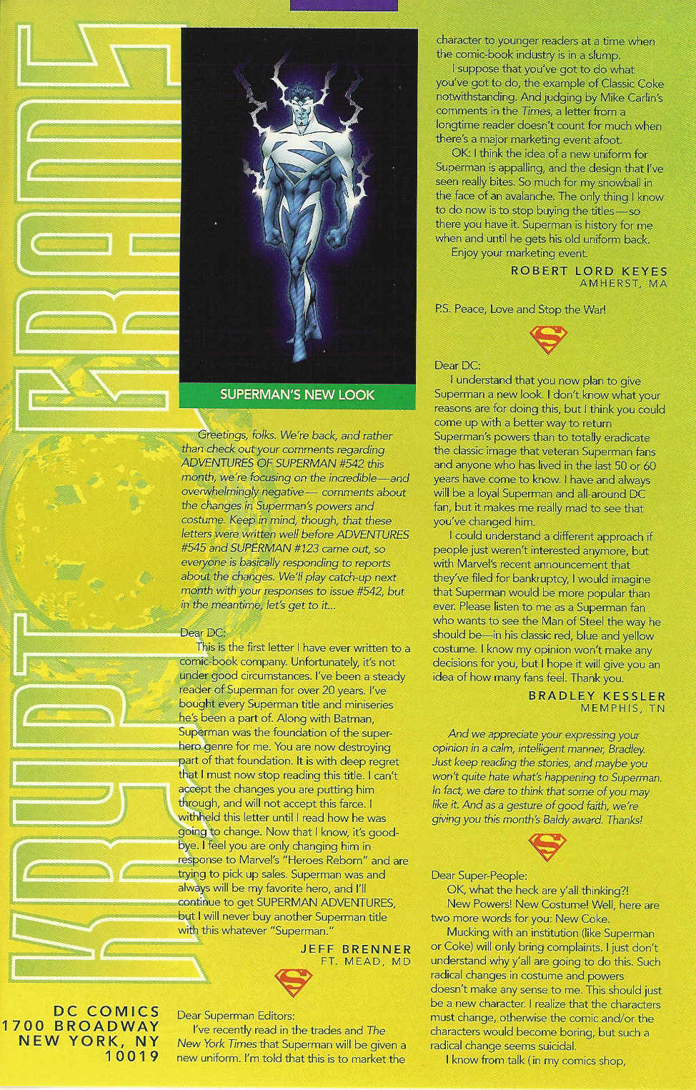 Read online Adventures of Superman (1987) comic -  Issue #547 - 24