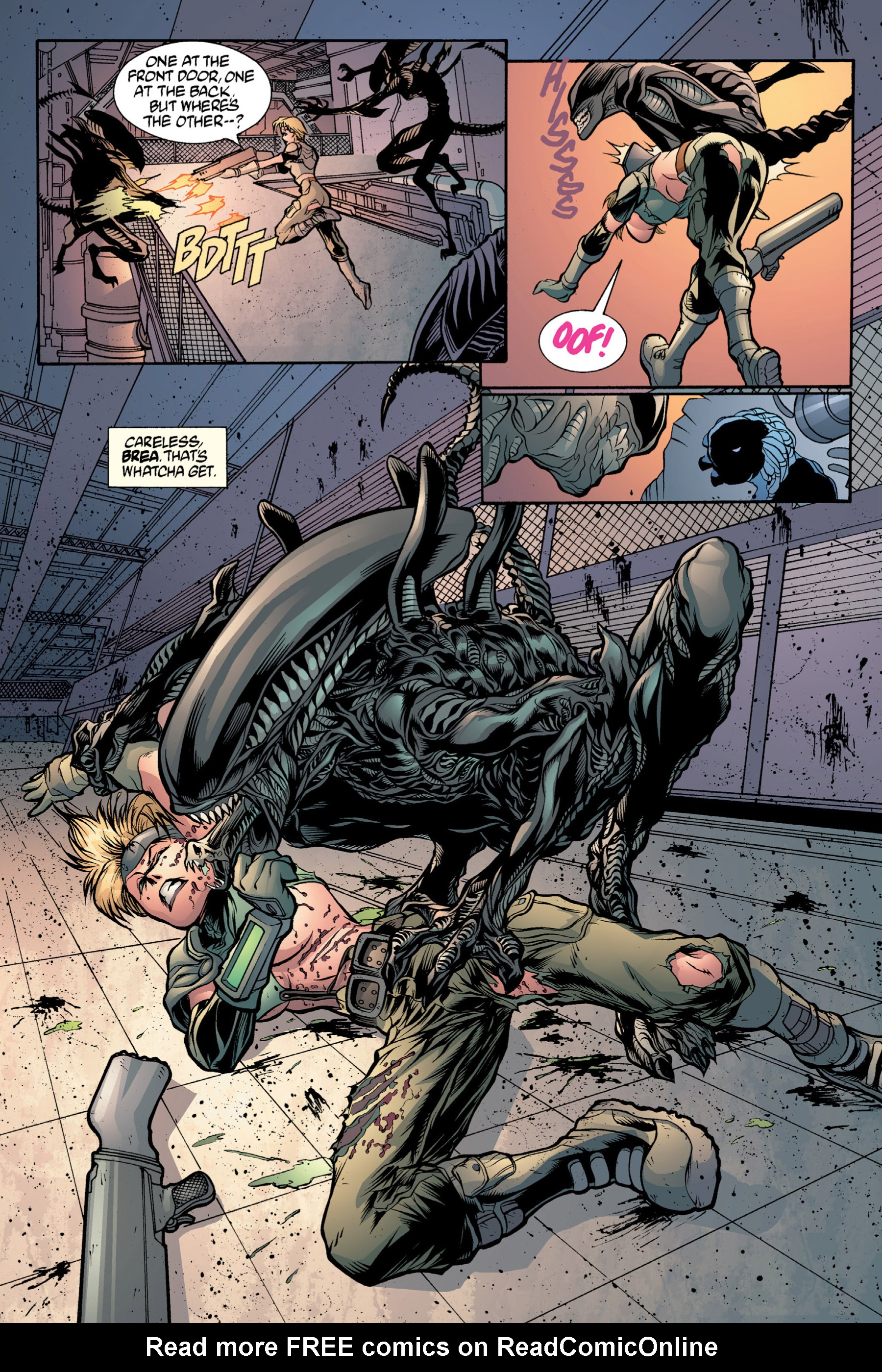 Read online Aliens vs. Predator Omnibus comic -  Issue # _TPB 2 Part 4 - 20