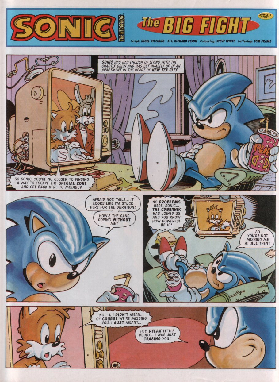 Read online Sonic the Comic comic -  Issue #95 - 3