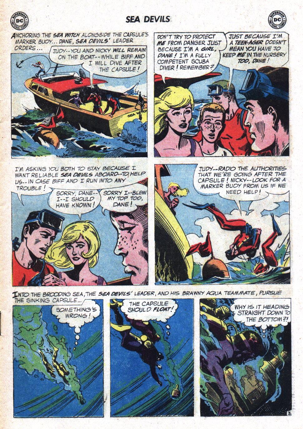Read online Sea Devils comic -  Issue #7 - 6