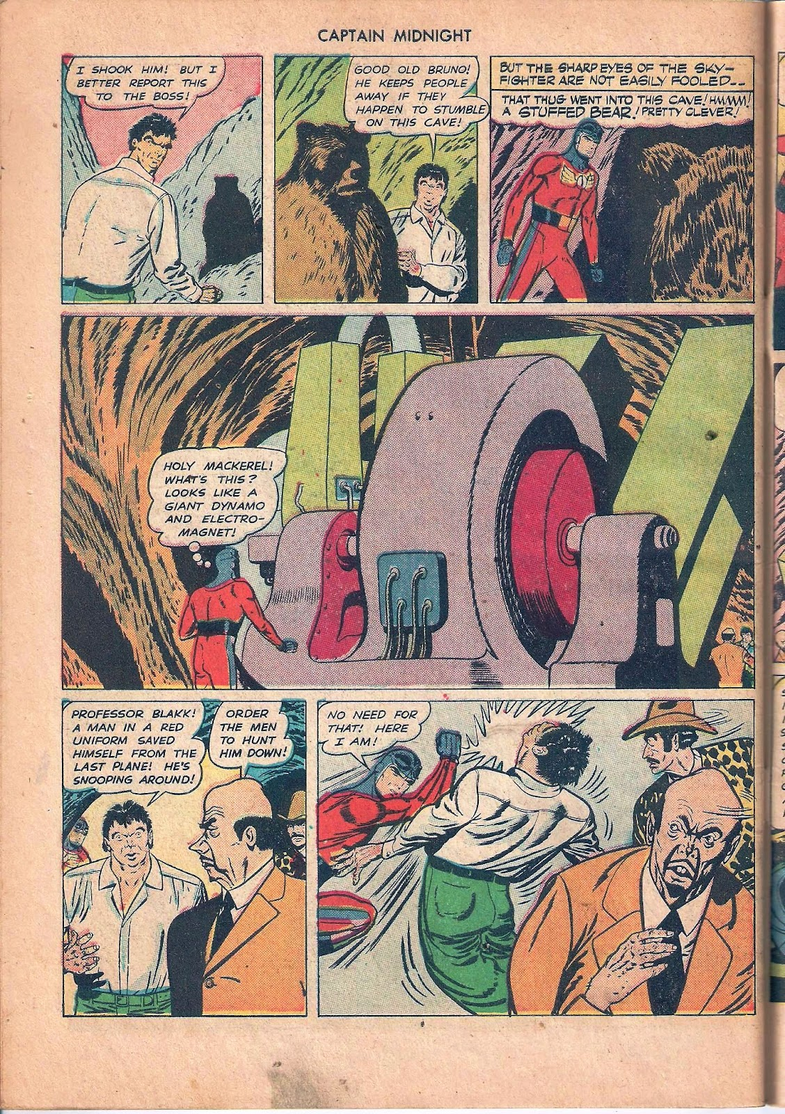 Captain Midnight (1942) issue 53 - Page 46