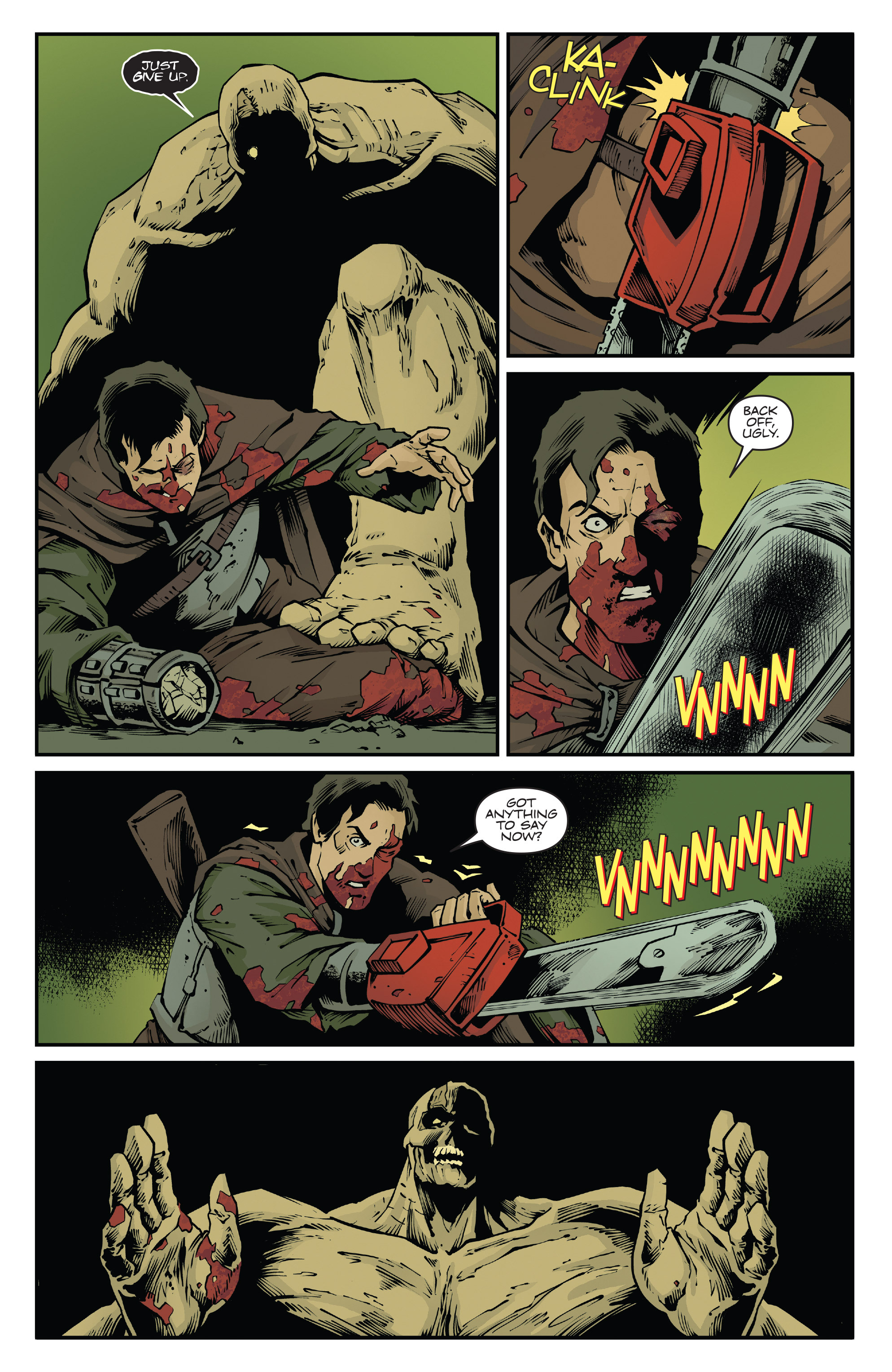 Read online Army of Darkness: Ash Gets Hitched comic -  Issue #4 - 9