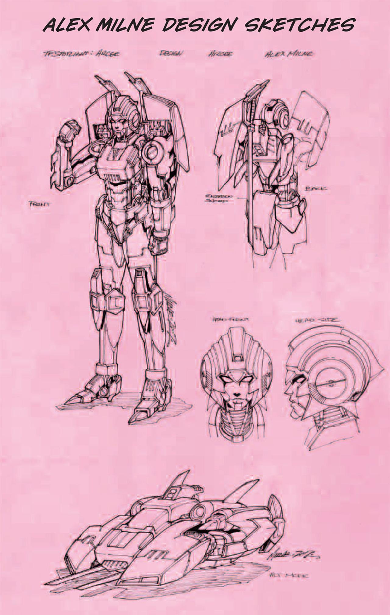 Read online Transformers: Spotlight - Arcee comic -  Issue # Full - 28