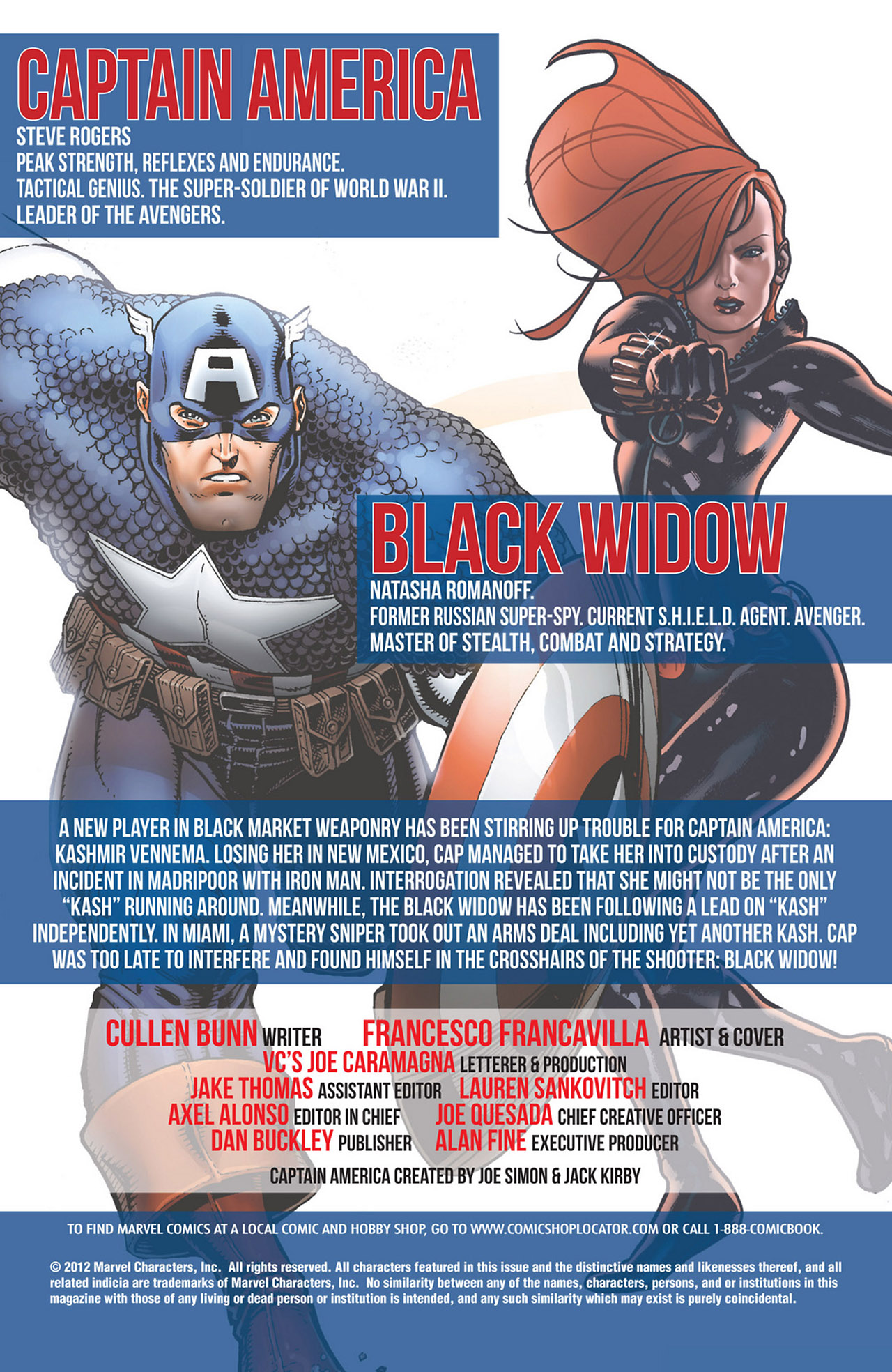 Read online Captain America And Black Widow comic -  Issue #637 - 2