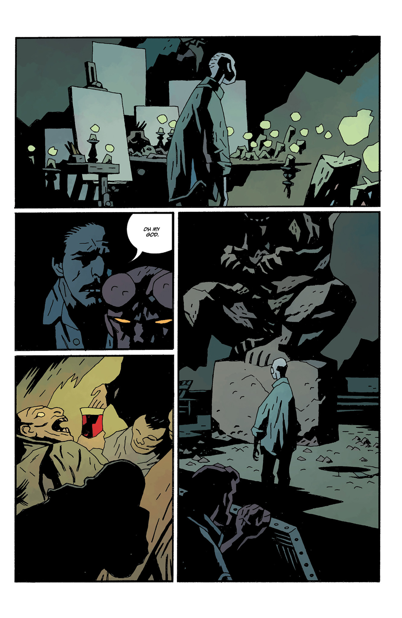 Read online Hellboy: The Crooked Man and Others comic -  Issue # TPB - 121
