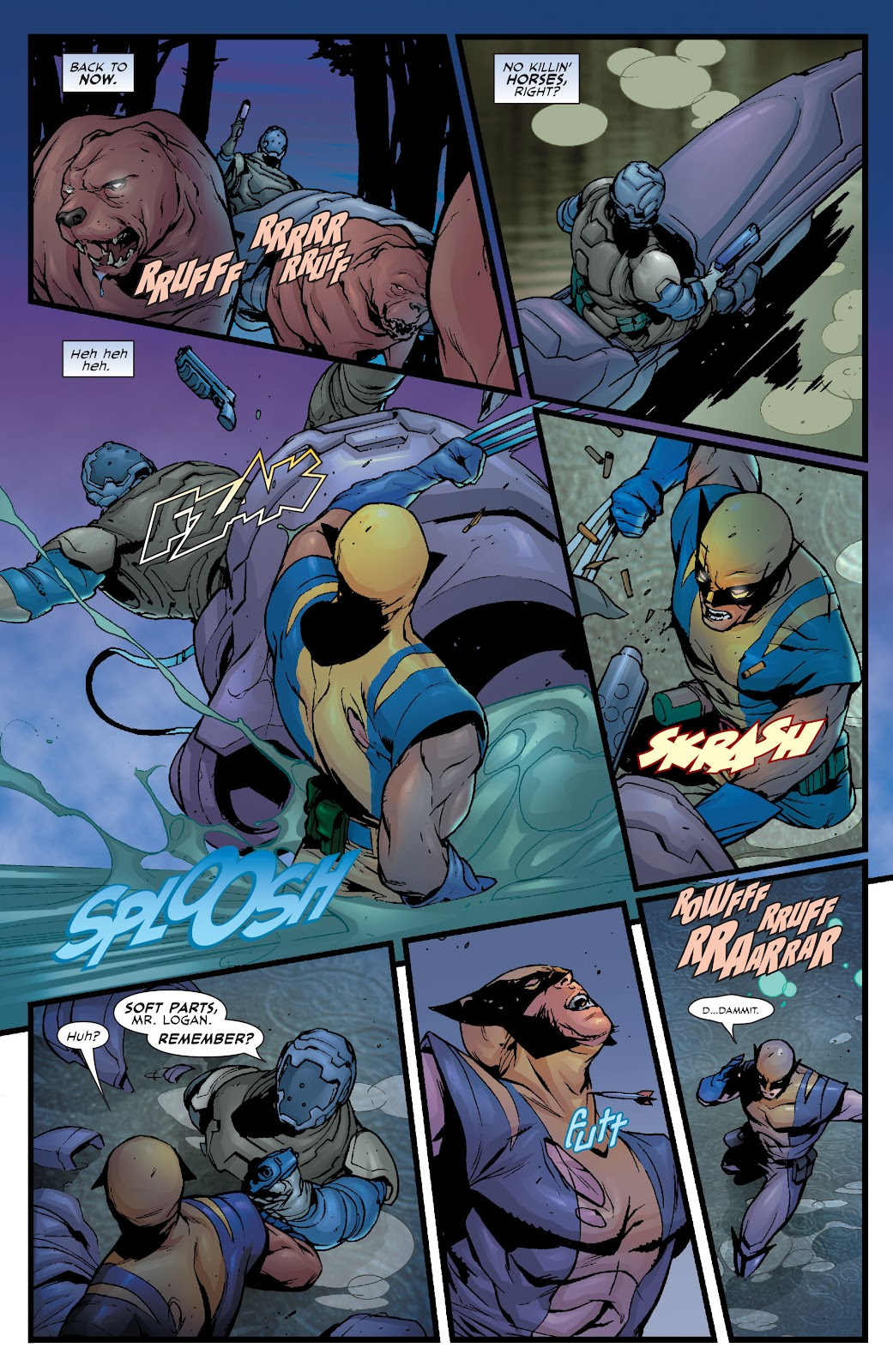 Wolverine: Dangerous Games issue Full - Page 11