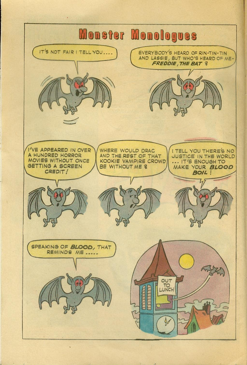 Read online Tales Calculated to Drive You Bats comic -  Issue #1 - 4