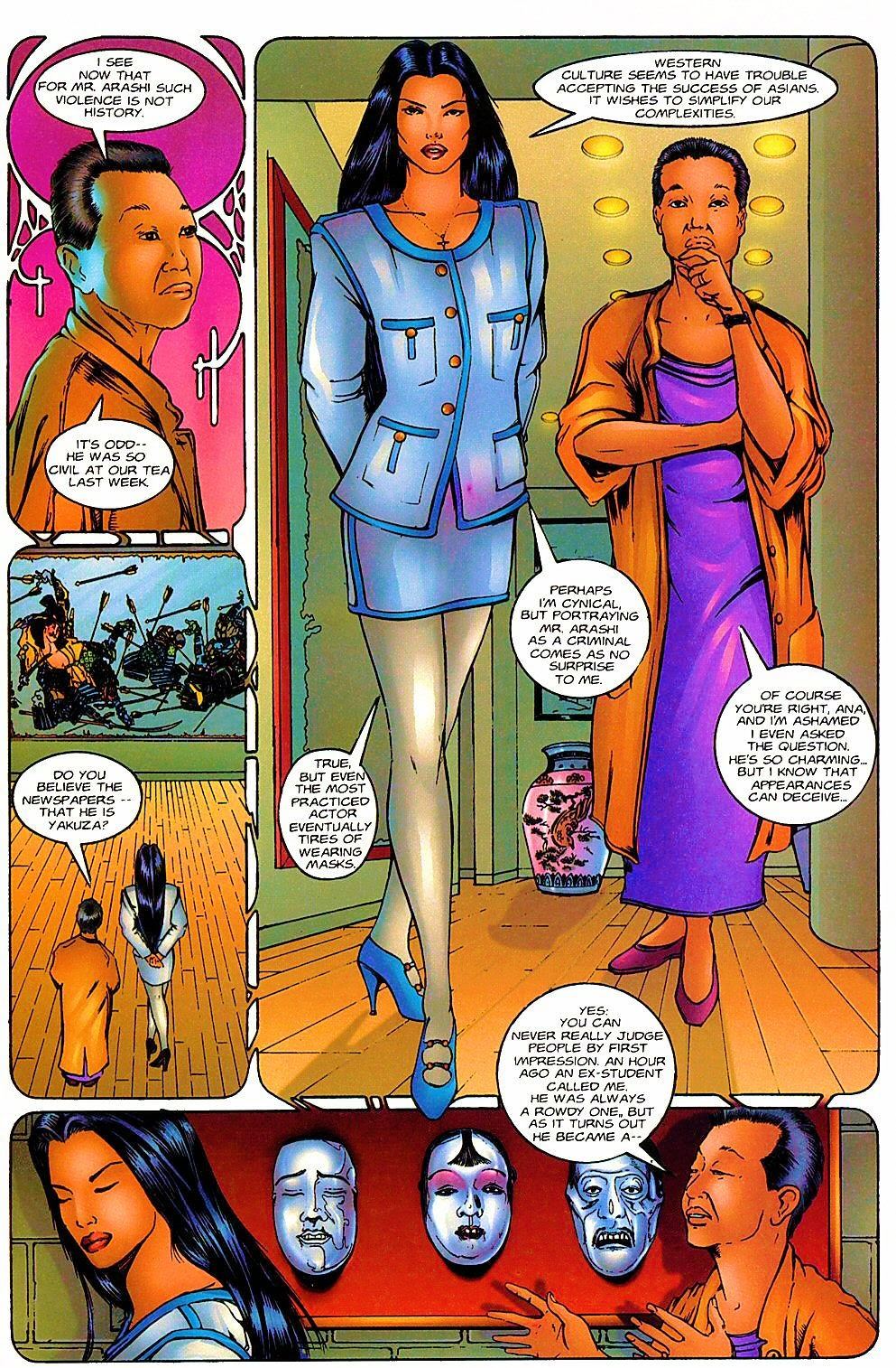Shi: The Way of the Warrior Issue #6 #6 - English 12