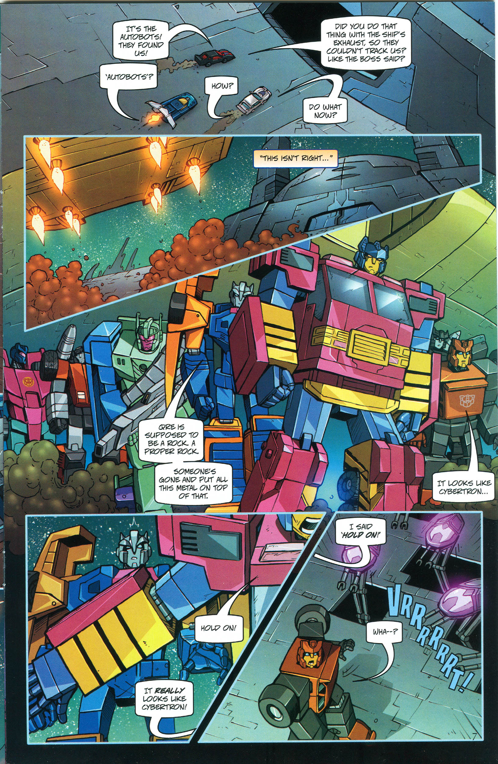 Read online Transformers: Collectors' Club comic -  Issue #46 - 7