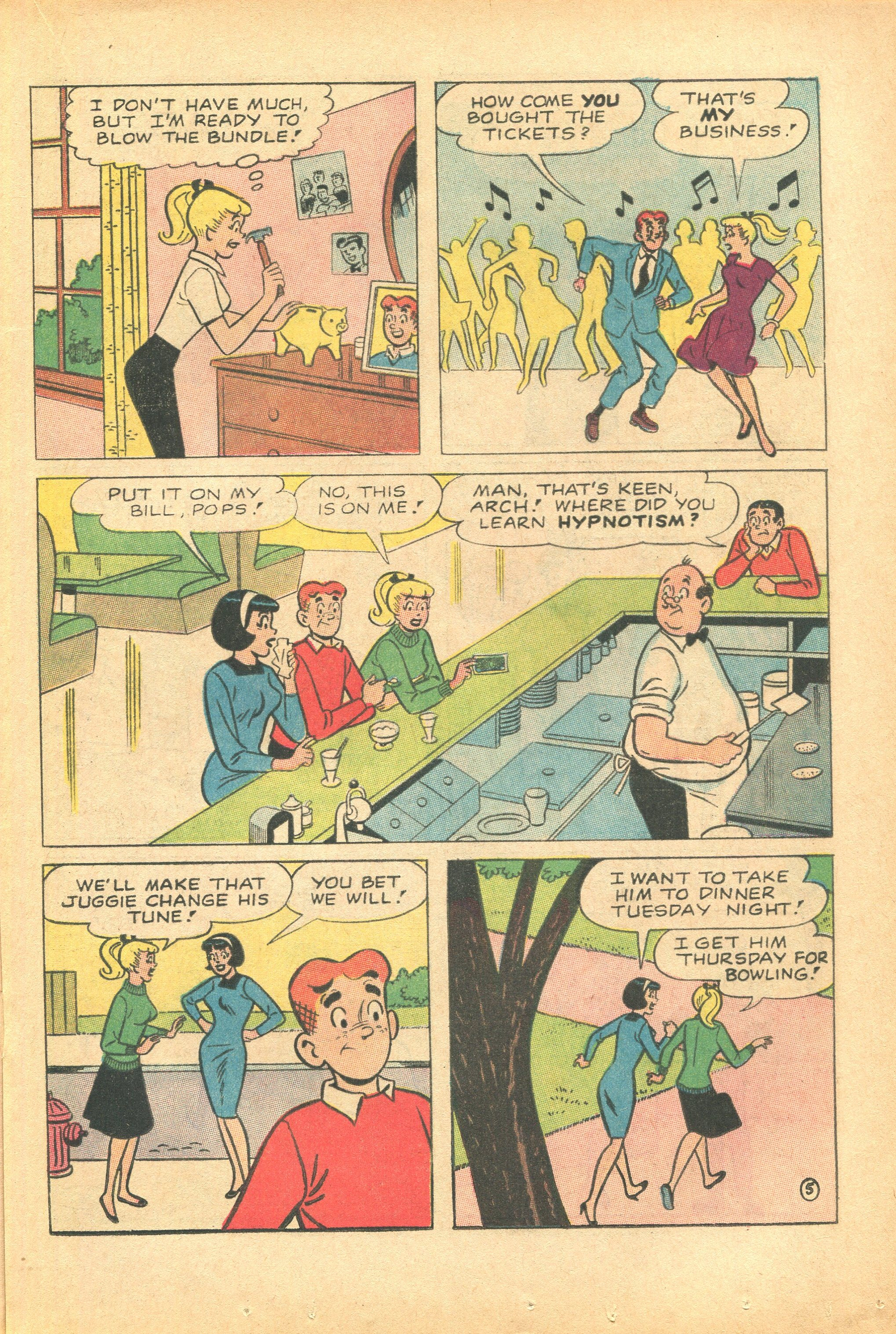 Read online Archie's Pal Jughead Comics comic -  Issue #124 - 17