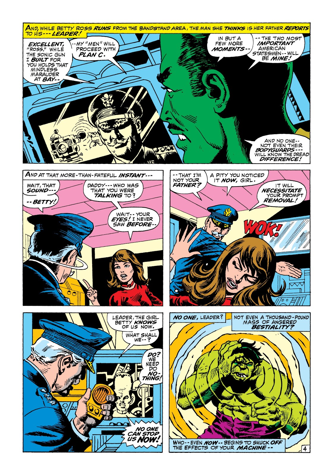 Read online Marvel Masterworks: The Incredible Hulk comic -  Issue # TPB 8 (Part 1) - 67