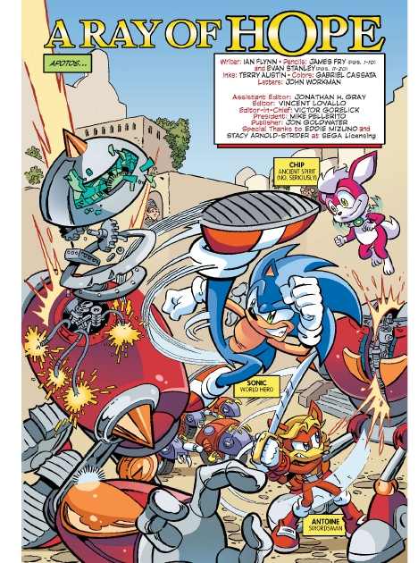 Read online Sonic Comics Spectacular: Speed of Sound comic -  Issue # Full - 81