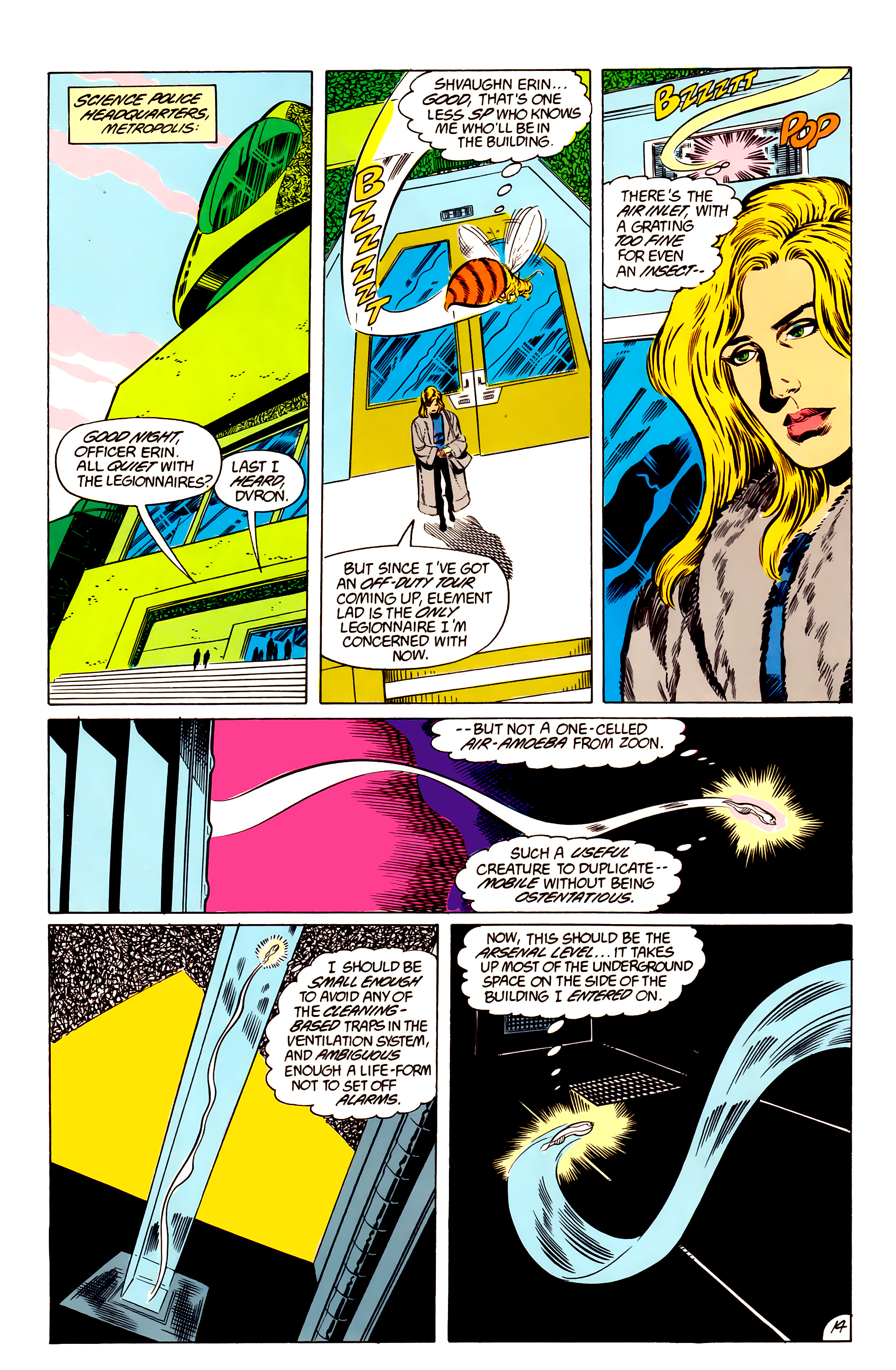 Legion of Super-Heroes (1984) 48 Page 14