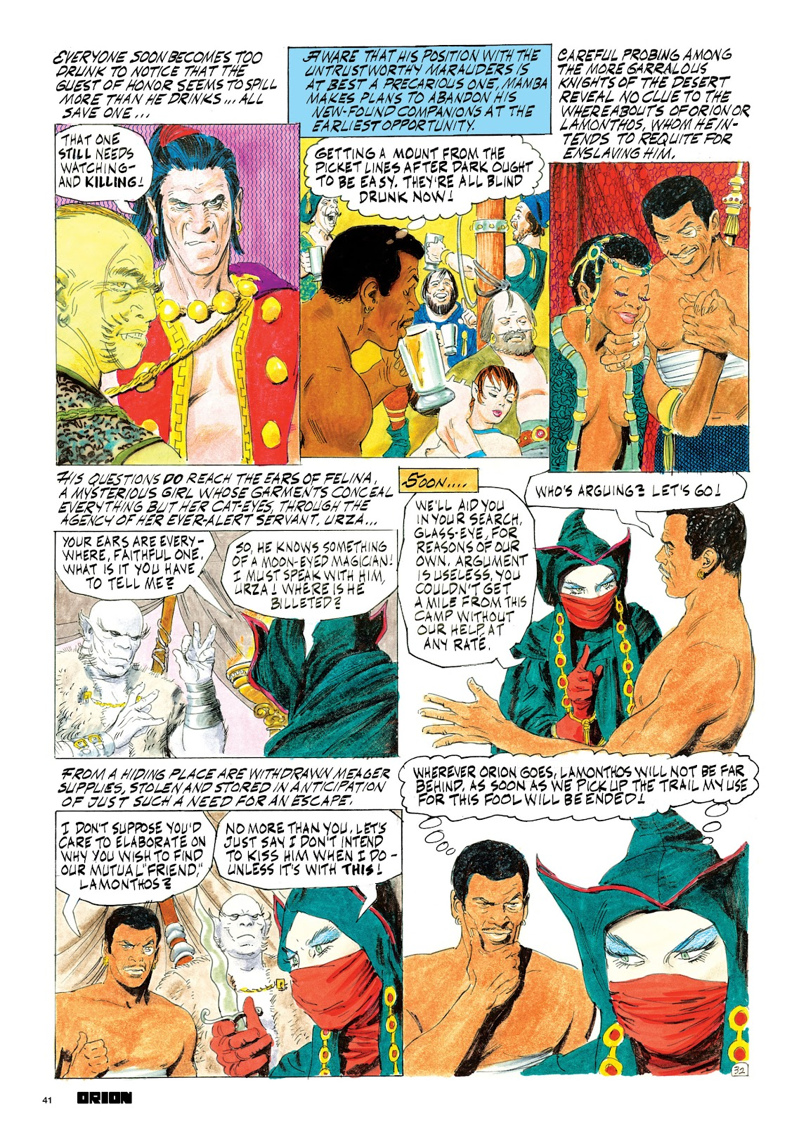 Read online Orion and Edge of Chaos comic -  Issue # TPB - 42
