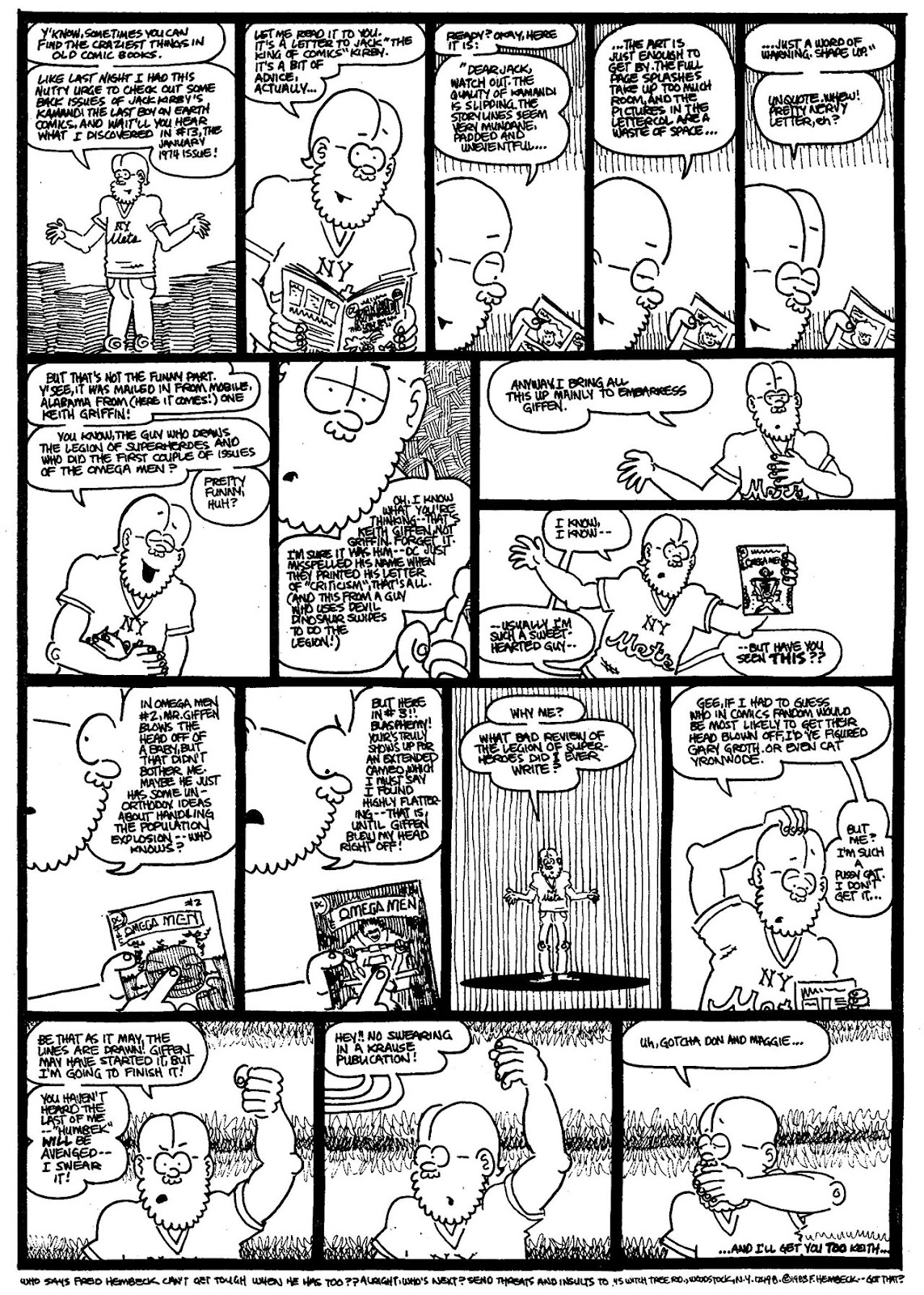 Read online The Nearly Complete Essential Hembeck Archives Omnibus comic -  Issue # TPB (Part 4) - 62
