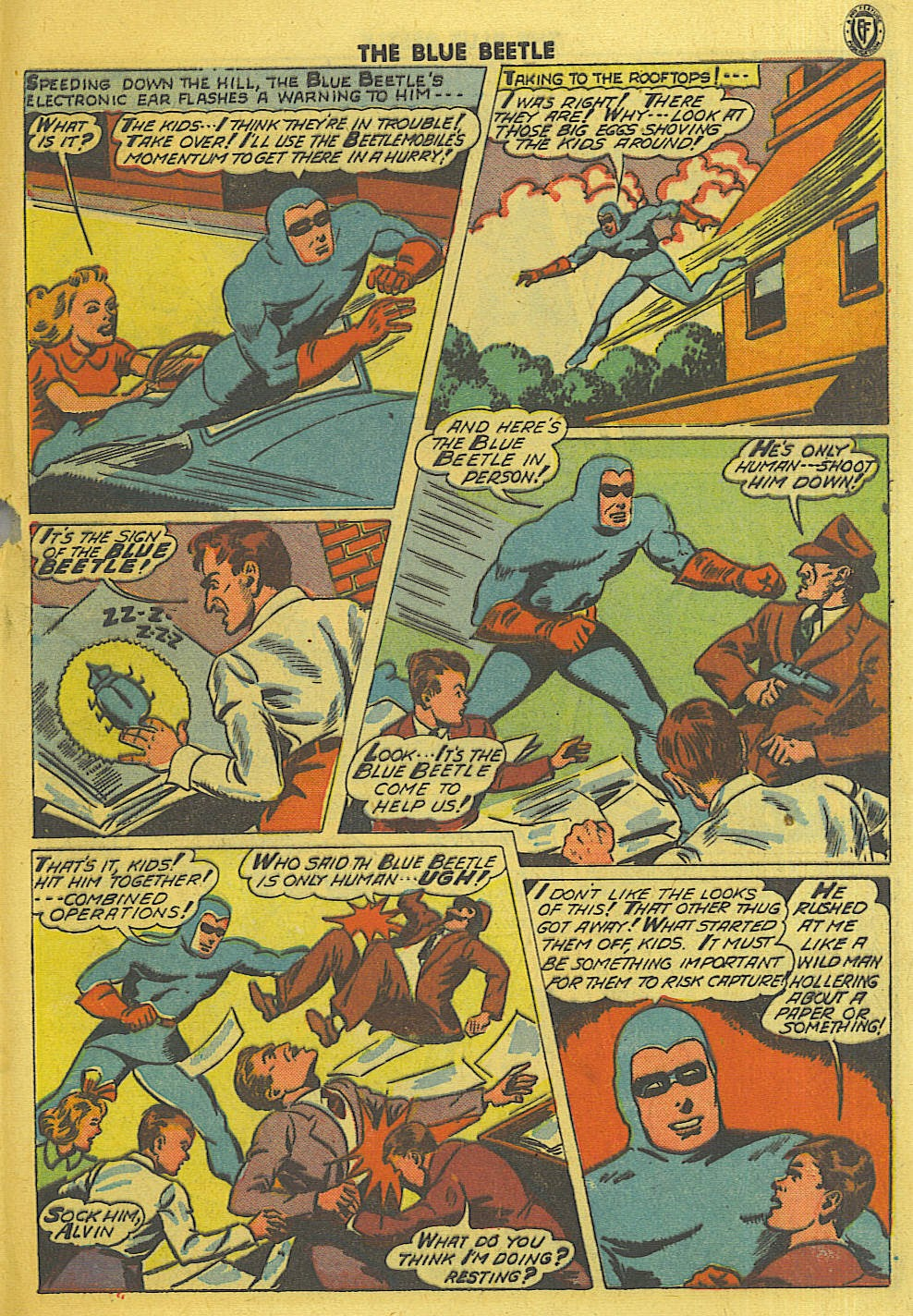 The Blue Beetle issue 35 - Page 36