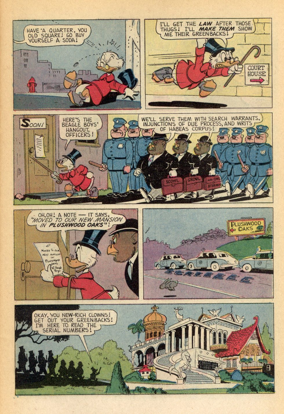 Read online Uncle Scrooge (1953) comic -  Issue #99 - 11