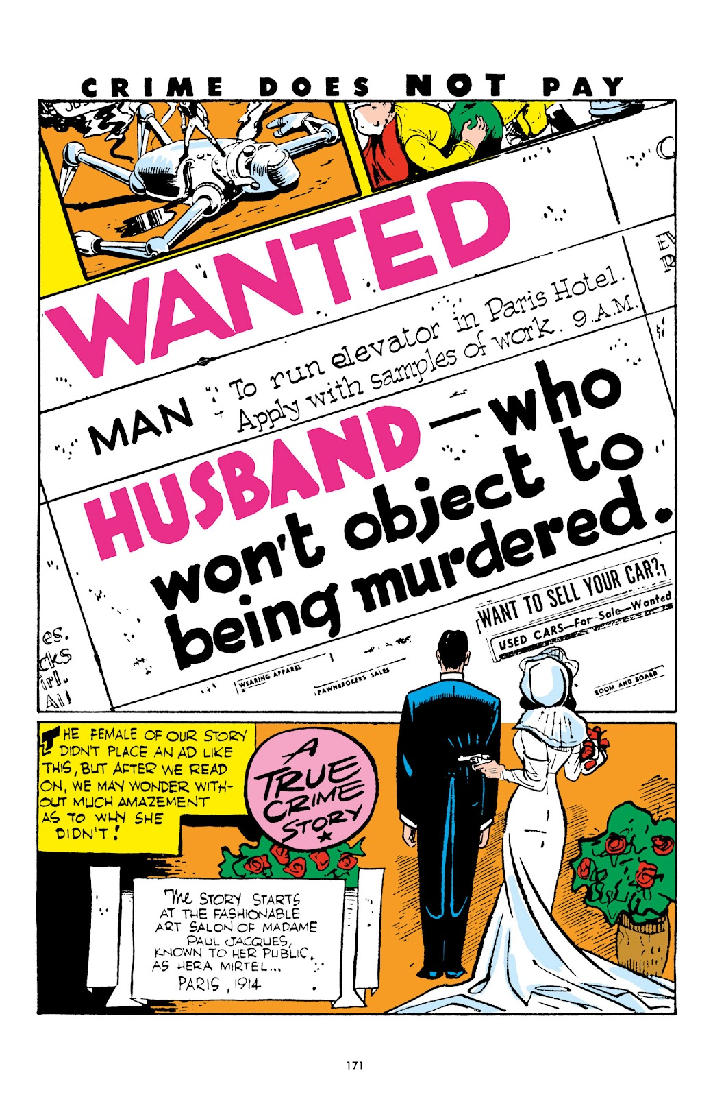 Read online Crime Does Not Pay Archives comic -  Issue # TPB 2 (Part 2) - 71