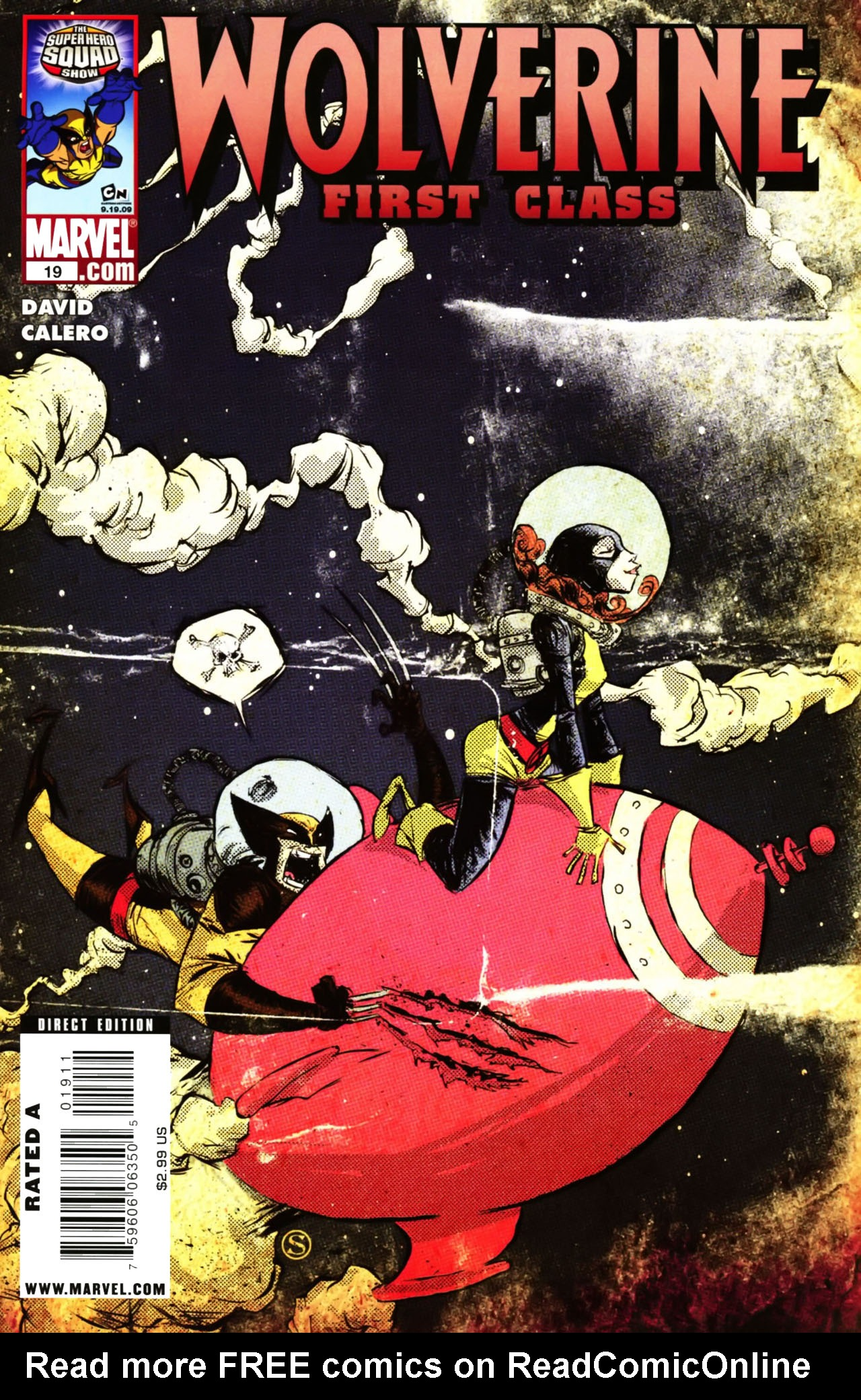Read online Wolverine: First Class comic -  Issue #19 - 1