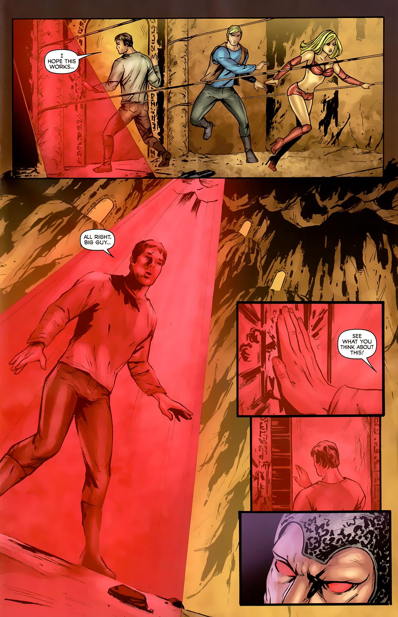 Read online Stargate: Daniel Jackson comic -  Issue #4 - 7