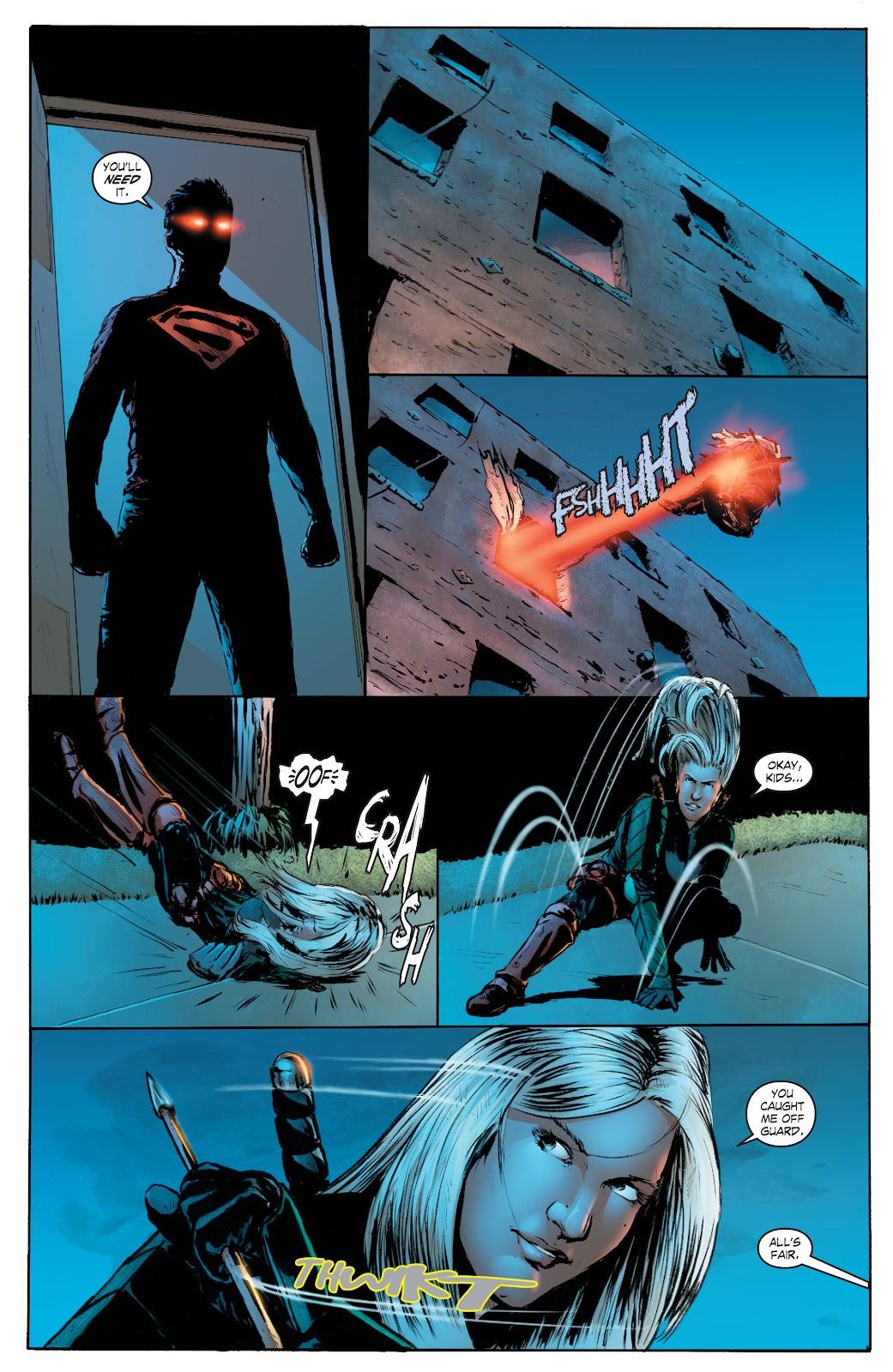 Read online Smallville Season 11 [II] comic -  Issue # TPB 7 - 158